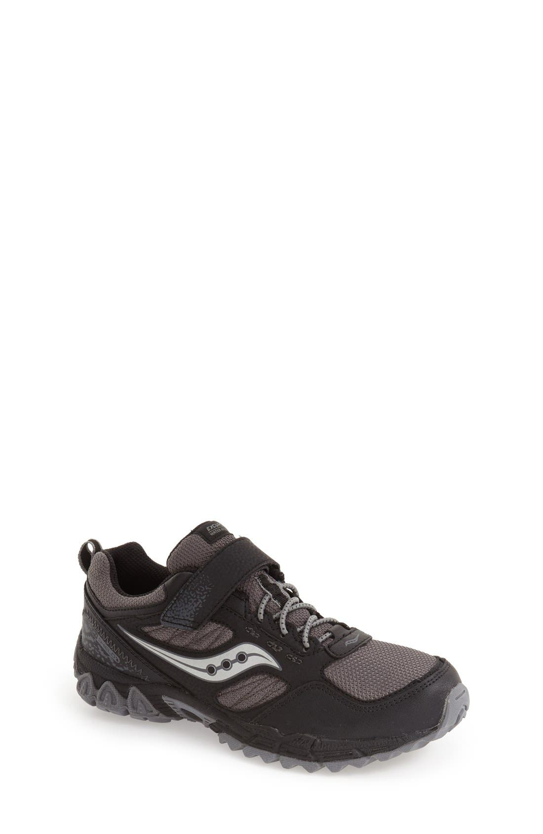 'Excursion Shield' Water Resistant Trail Shoe,                             Main thumbnail 1, color,                             001