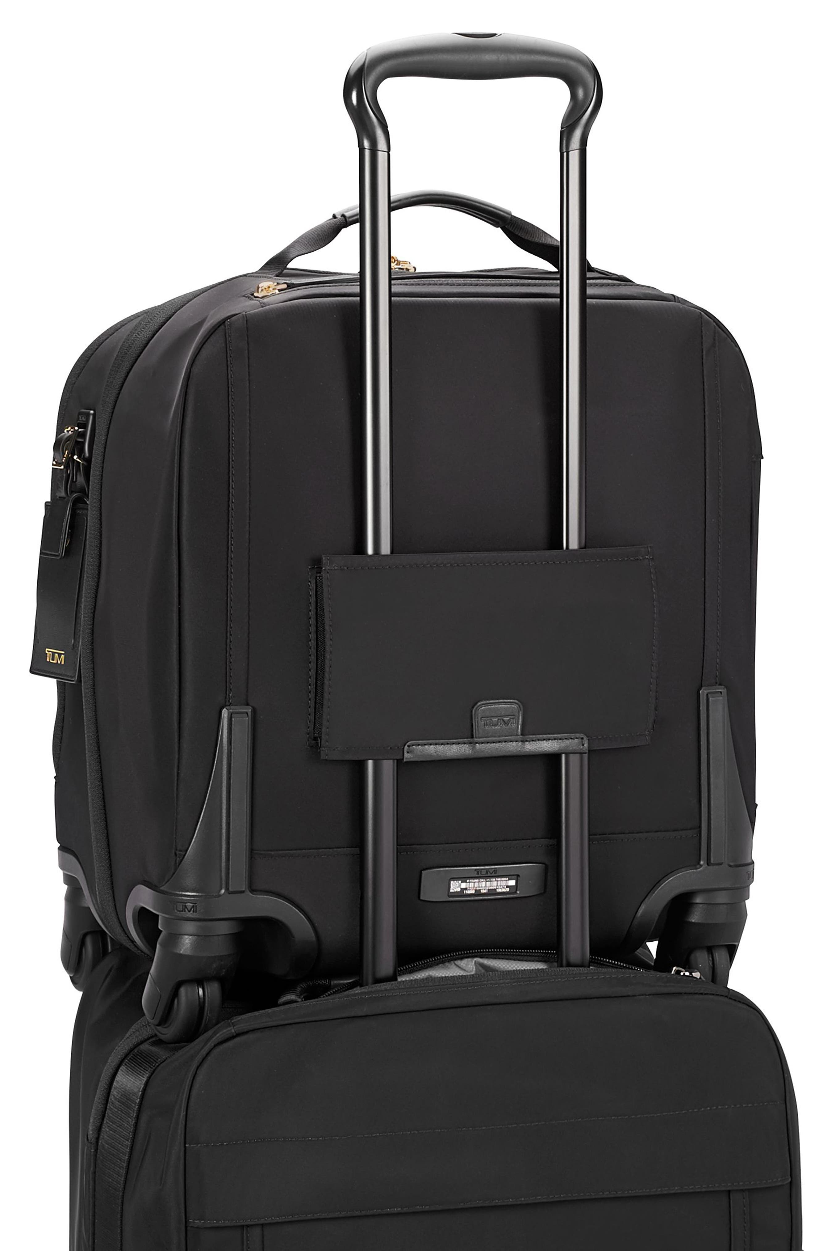 TUMI,                             Voyageur Osona 16-Inch Compact Carry-On,                             Alternate thumbnail 5, color,                             BLACK