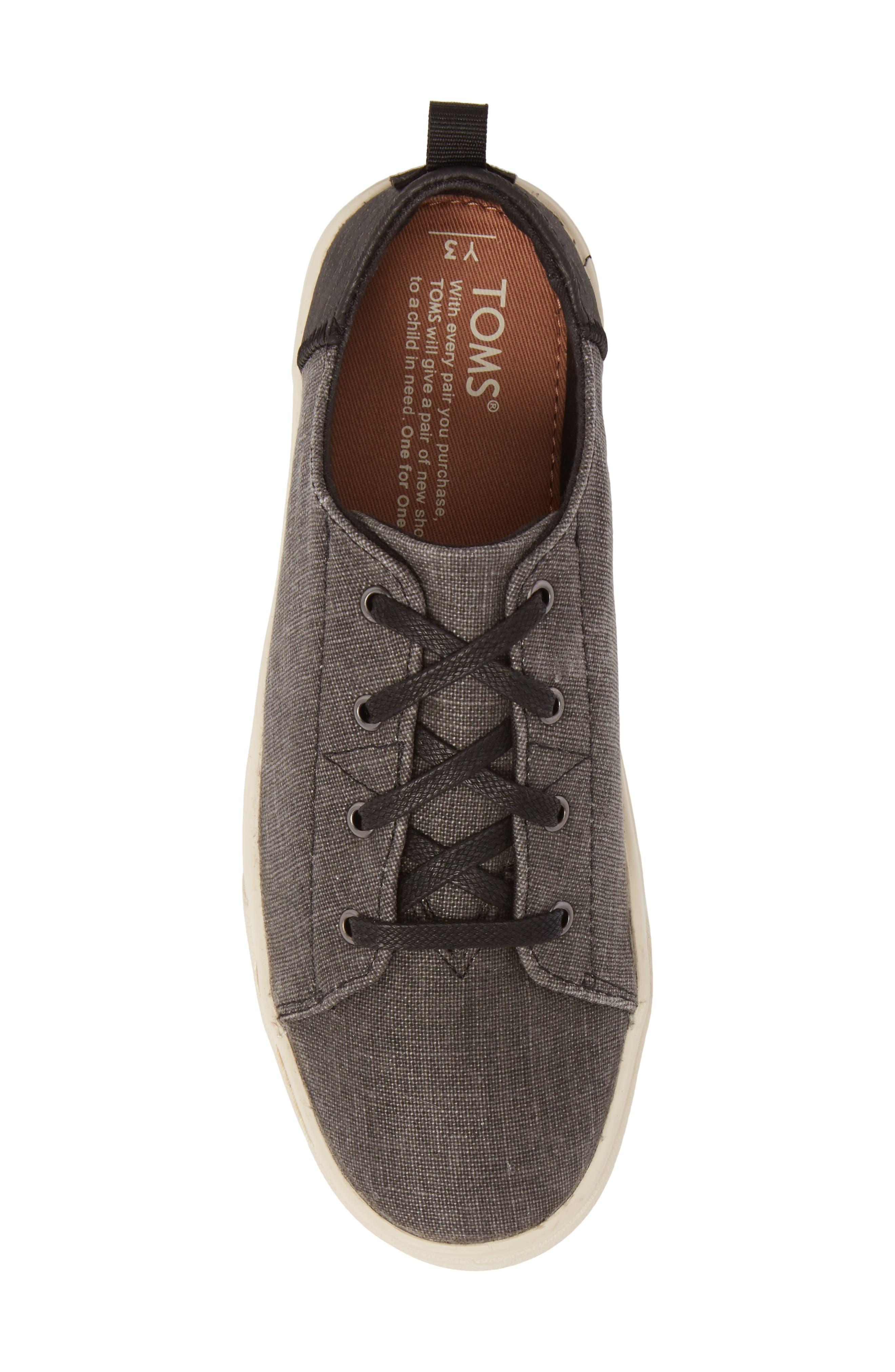 TOMS,                             Lenny Sneaker,                             Alternate thumbnail 5, color,                             001