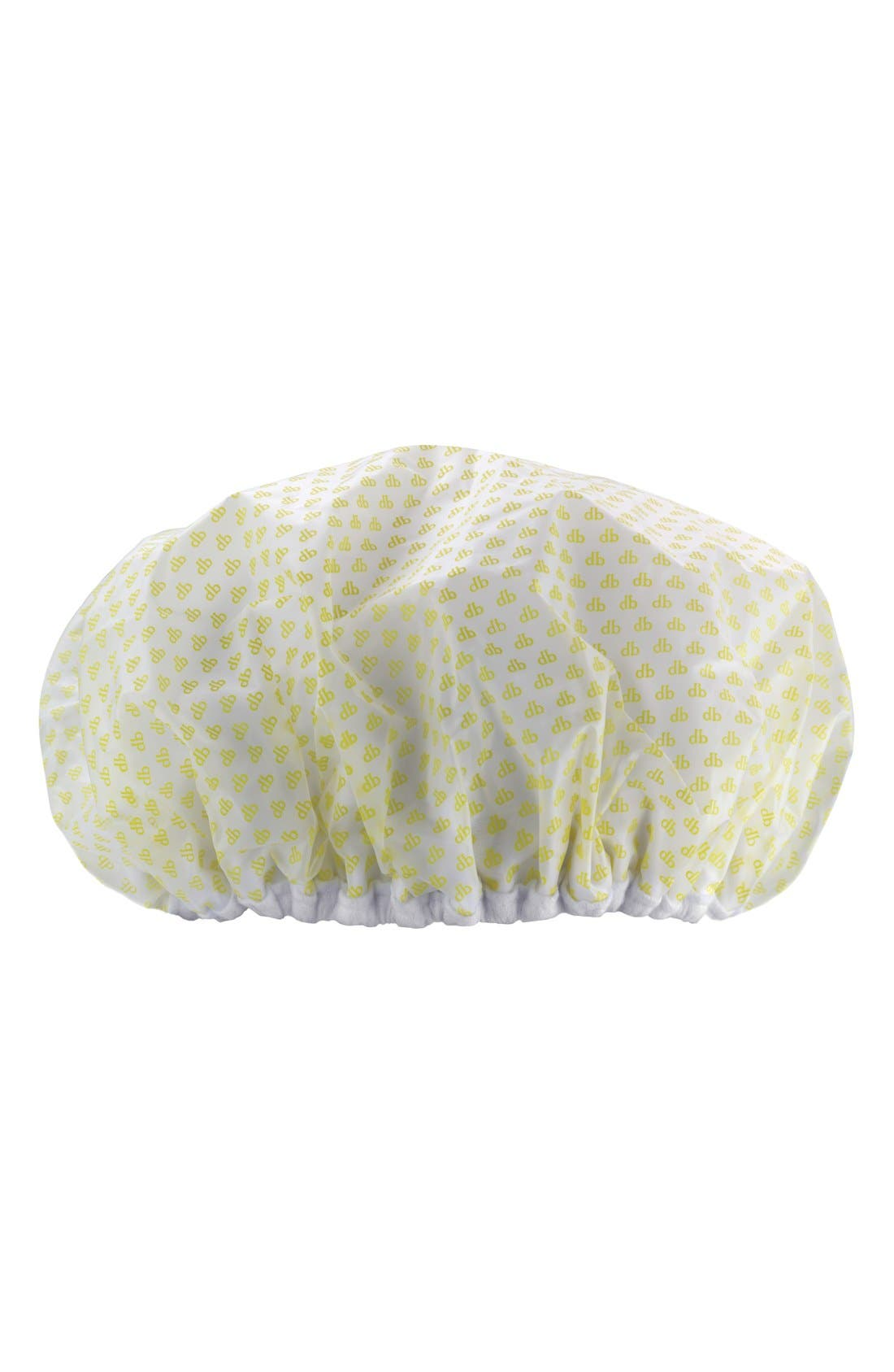 'The Morning After' Shower Cap,                             Main thumbnail 1, color,                             NO COLOR