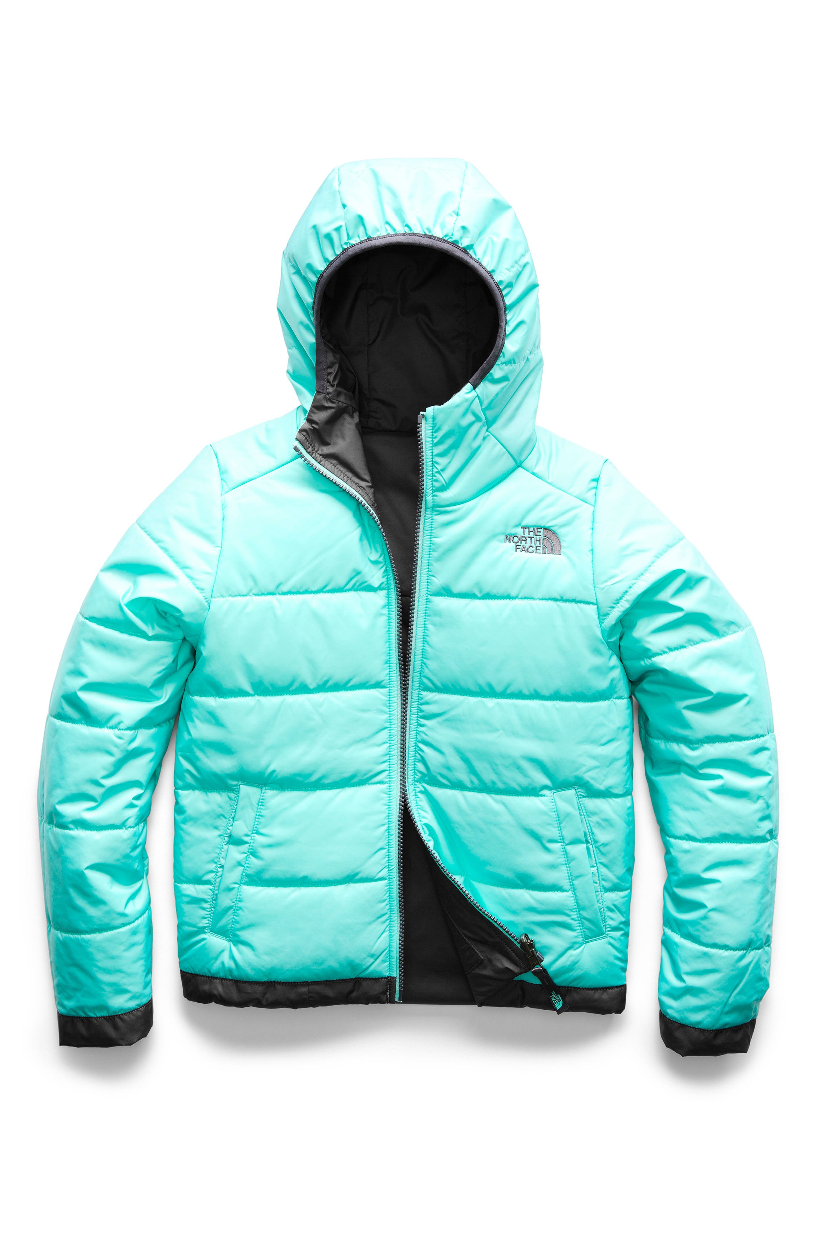 Perrito Reversible Water Repellent Heetseaker<sup>™</sup> Insulated Jacket,                             Alternate thumbnail 2, color,                             PERISCOPE GREY