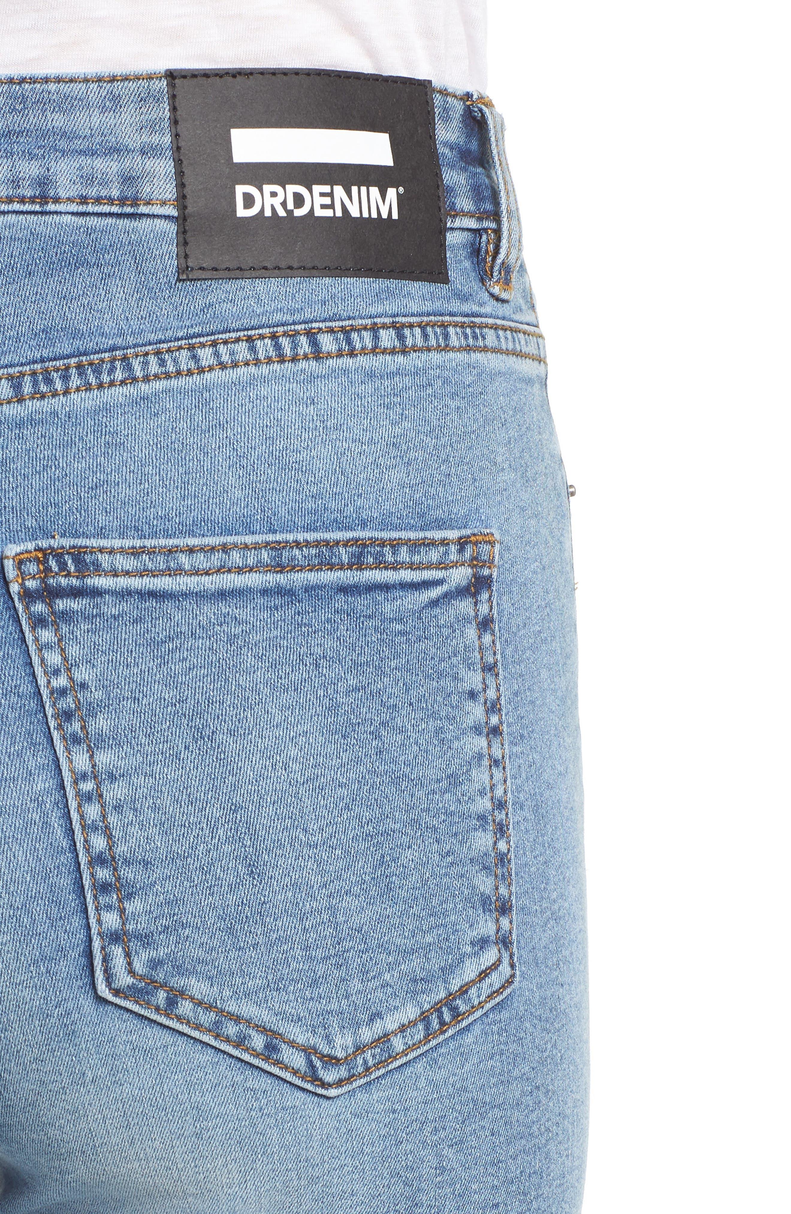 DR. DENIM SUPPLY CO.,                             Copacabana Crop Skinny Jeans,                             Alternate thumbnail 5, color,                             400