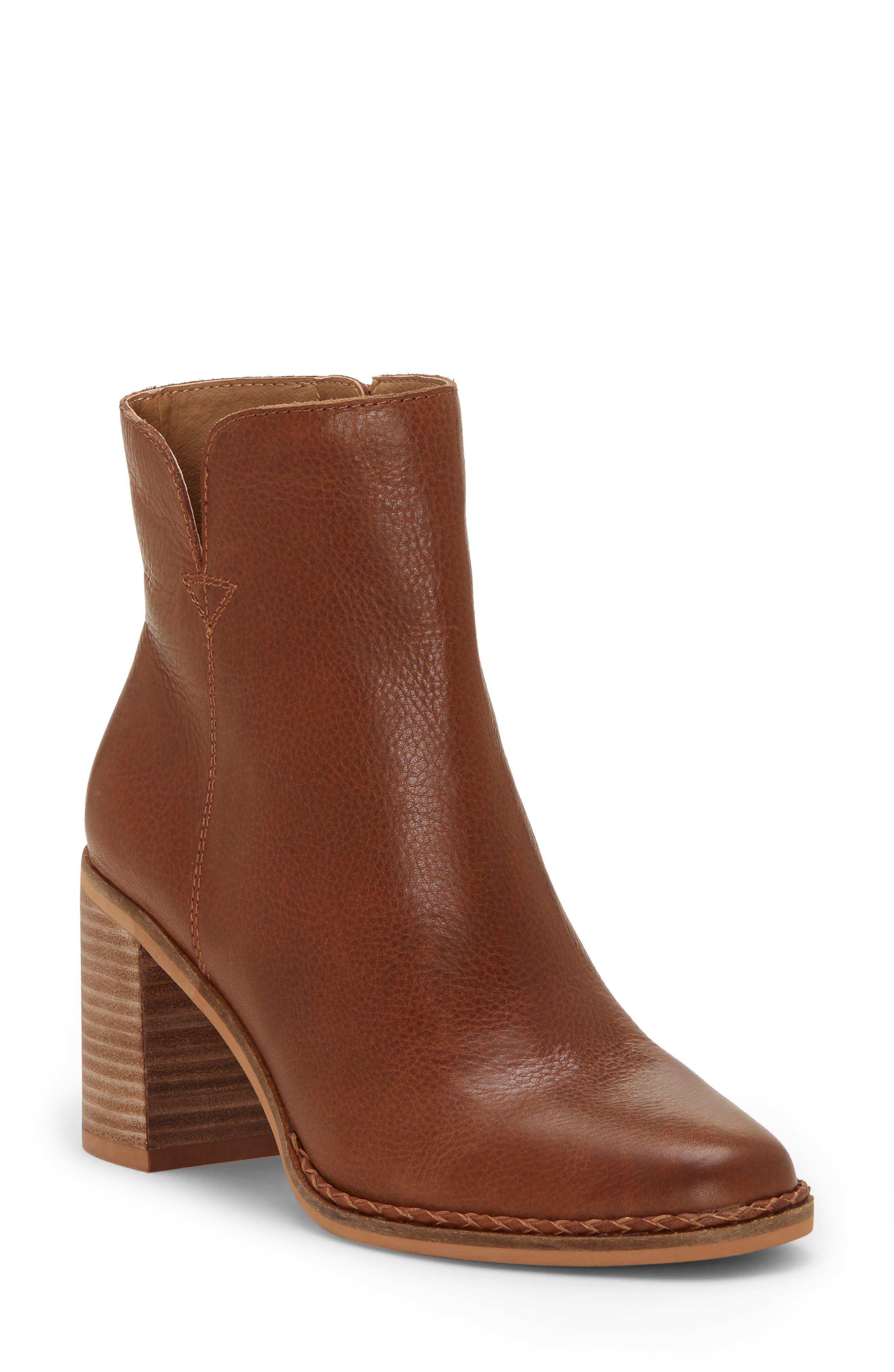 Nomi Bootie, Main, color, MACAROON LEATHER