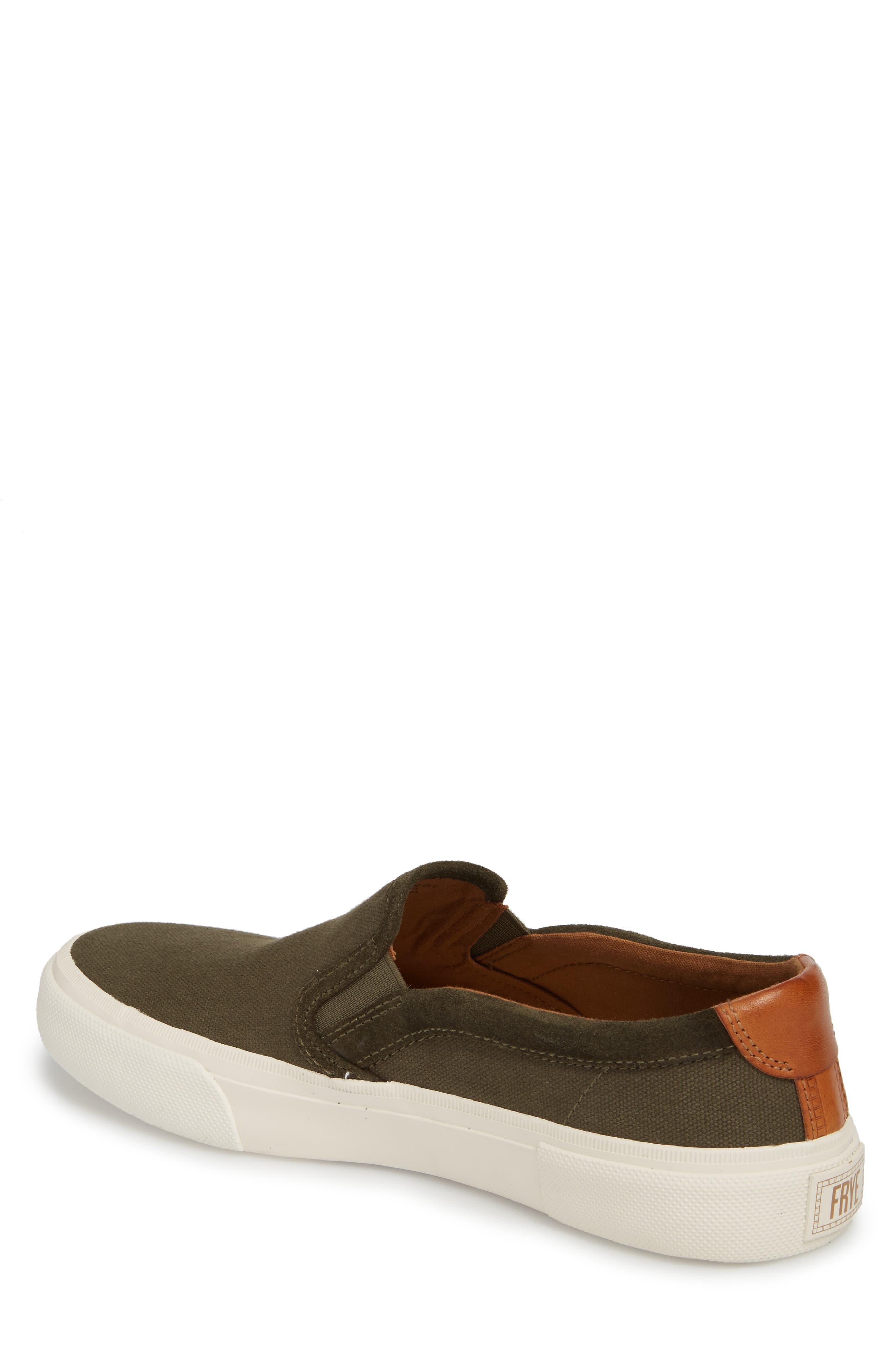 Ludlow Slip-On,                             Alternate thumbnail 2, color,                             OLIVE CANVAS