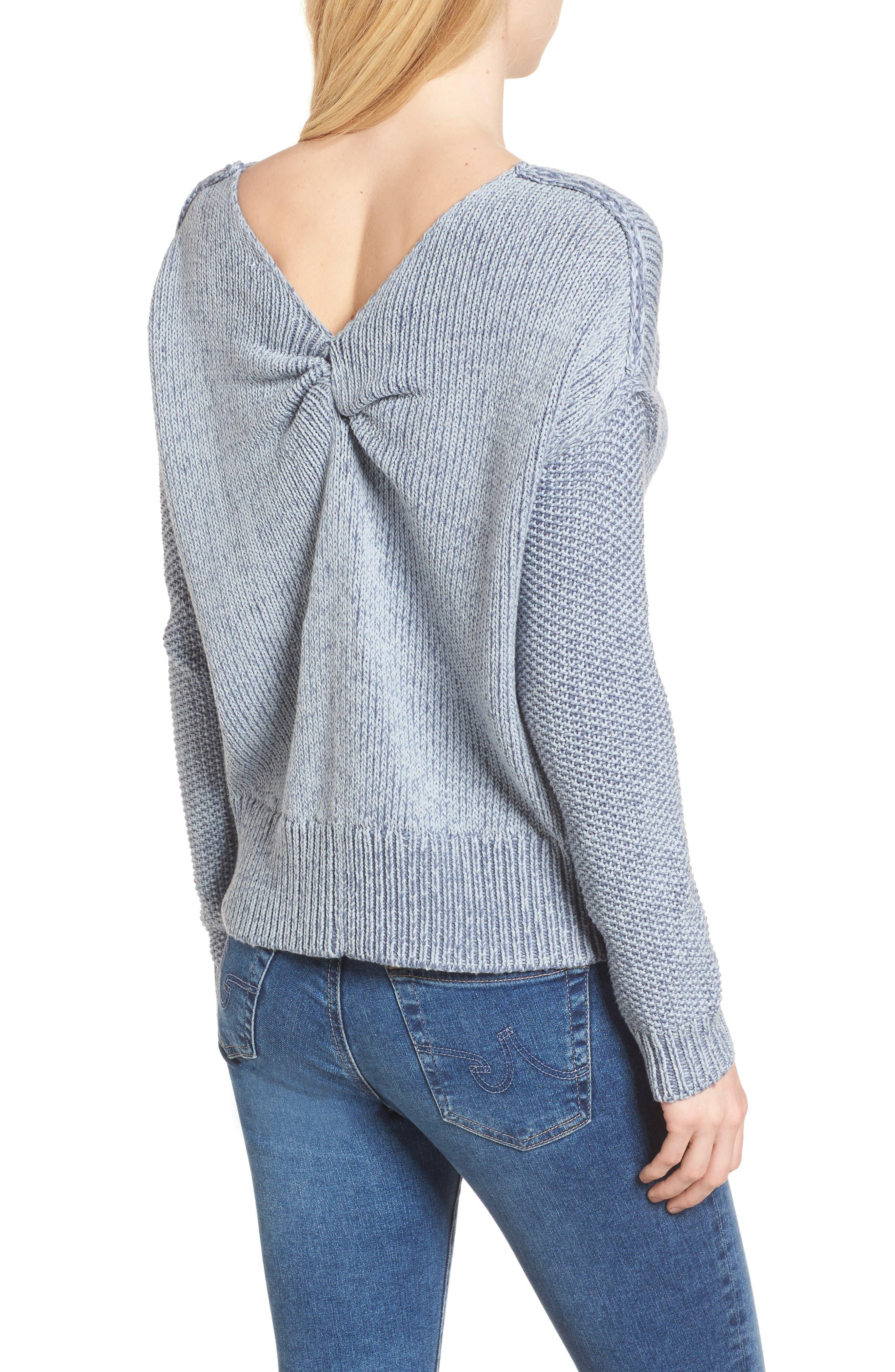 Lola Reversible Twist Sweater,                             Alternate thumbnail 5, color,