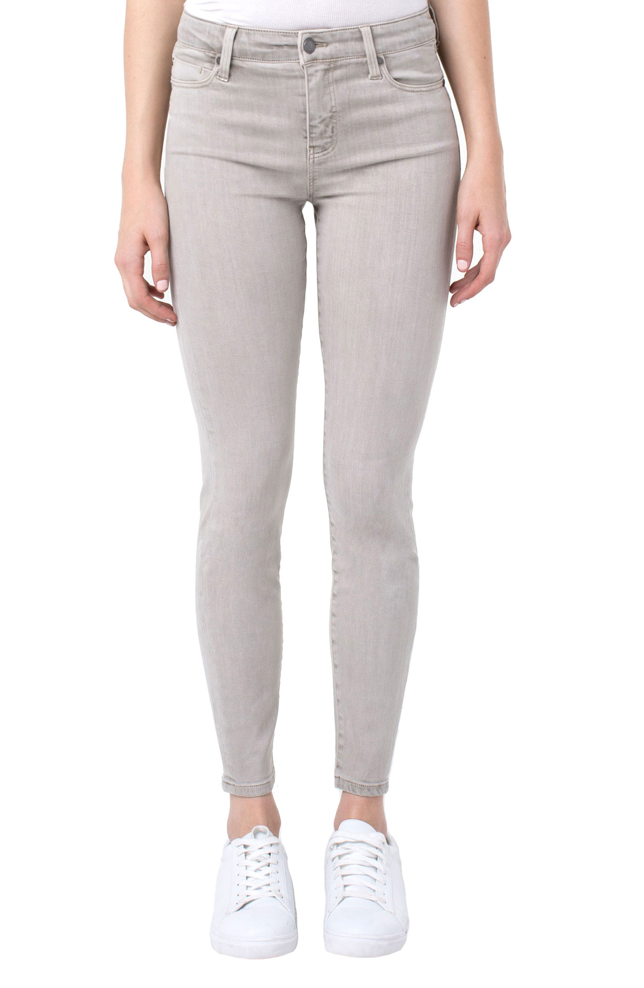 LIVERPOOL Piper Ankle Skinny Jeans In Oyster