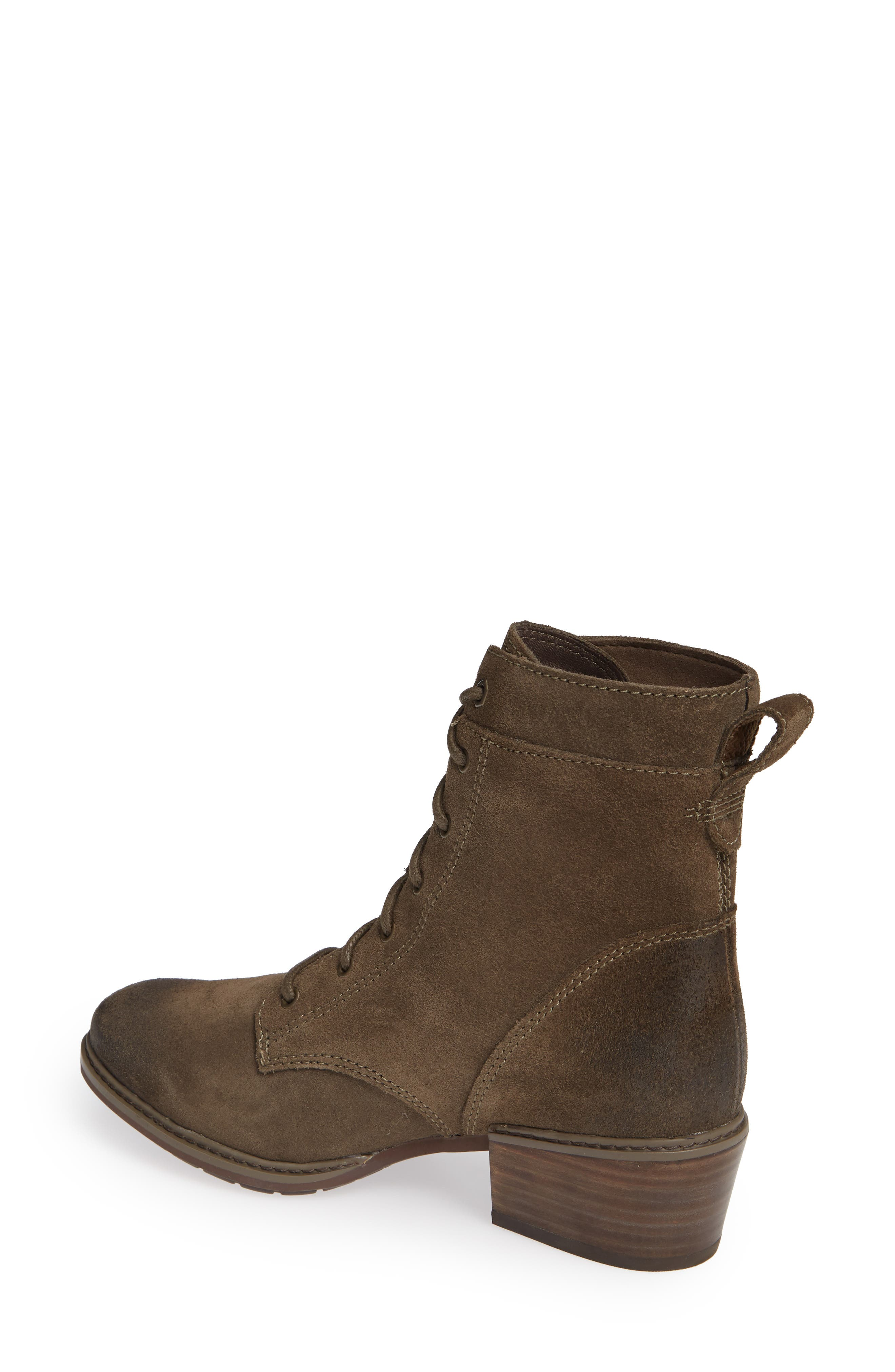 TIMBERLAND,                             Sutherlin Bay Water Resistant Lace-Up Bootie,                             Alternate thumbnail 2, color,                             CANTEEN SUEDE