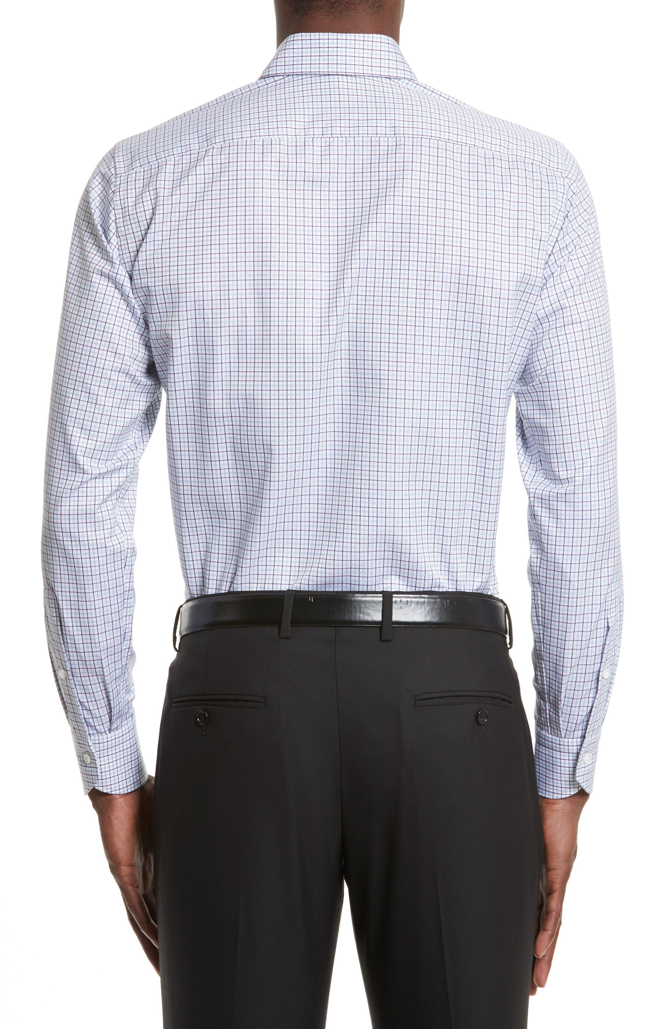 Regular Fit Check Dress Shirt,                             Alternate thumbnail 2, color,                             540