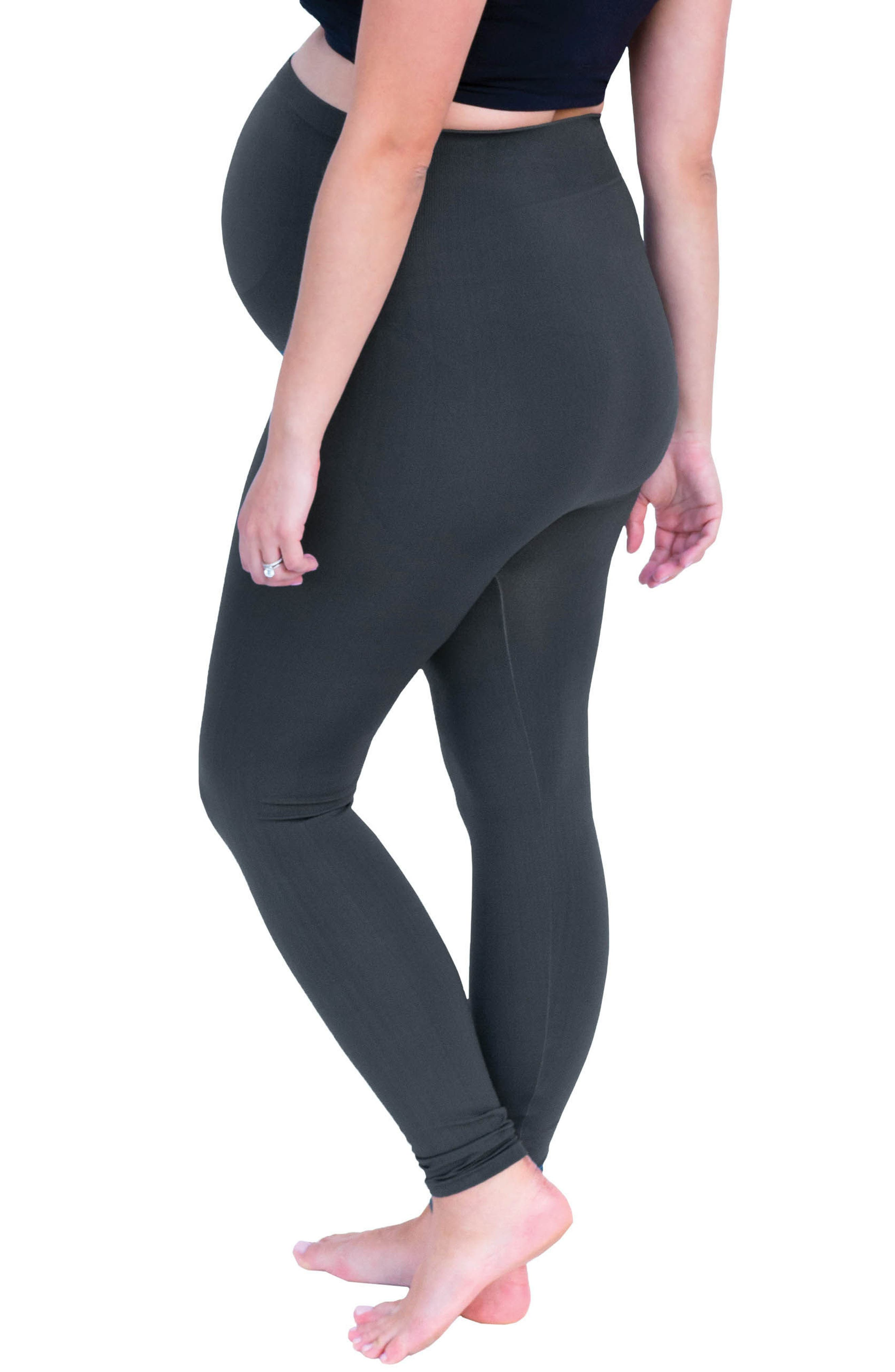 Belly Bandit Bump Support<sup>™</sup> Leggings,                             Alternate thumbnail 4, color,