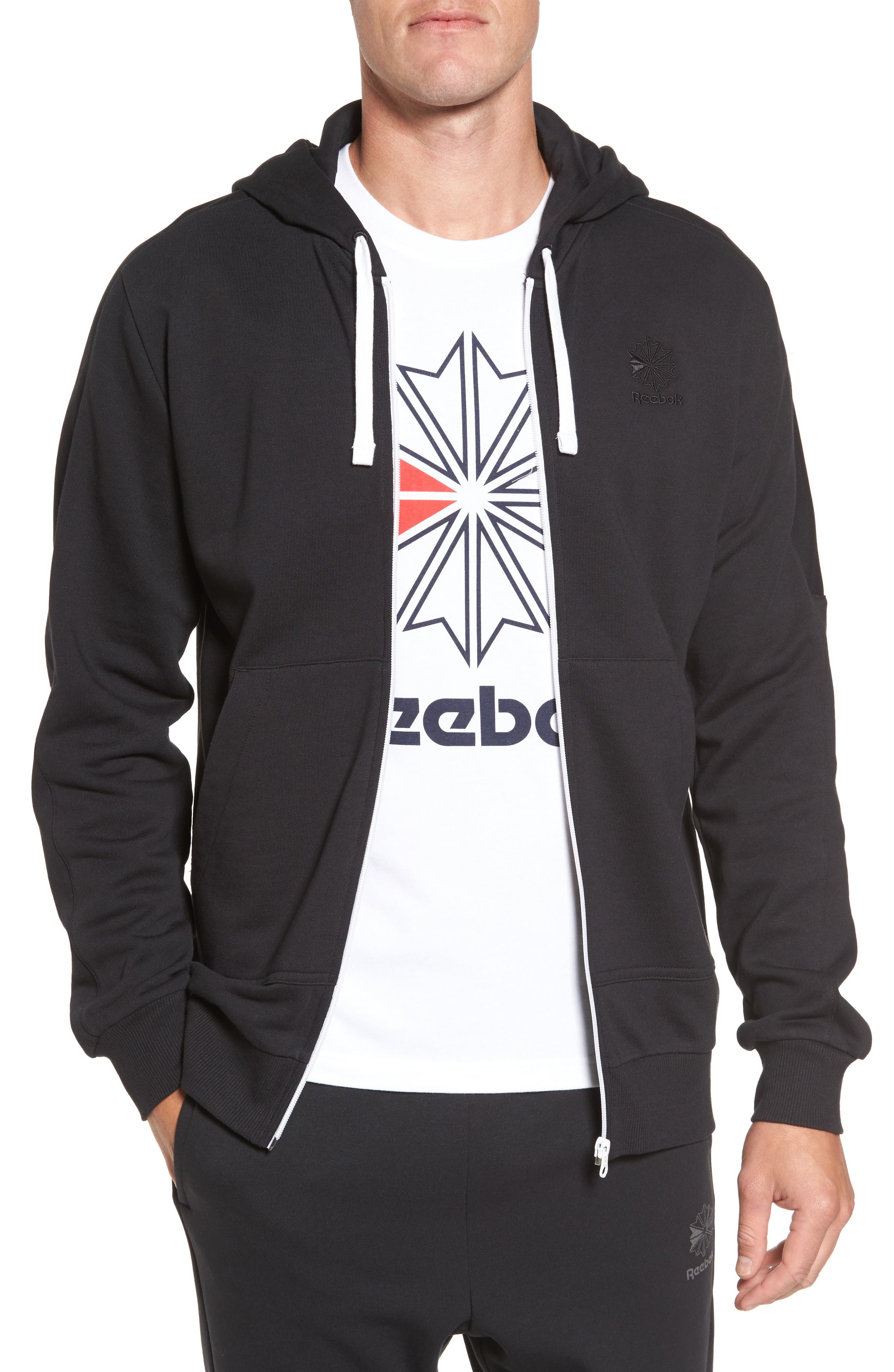 Classic Graphic Zip Hoodie,                             Main thumbnail 1, color,