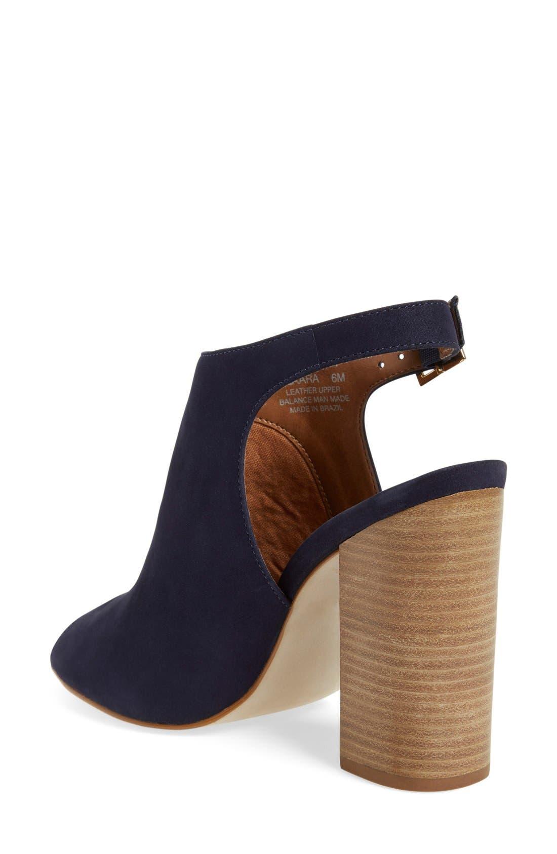'Claara' Block Heel Sandal,                             Alternate thumbnail 6, color,