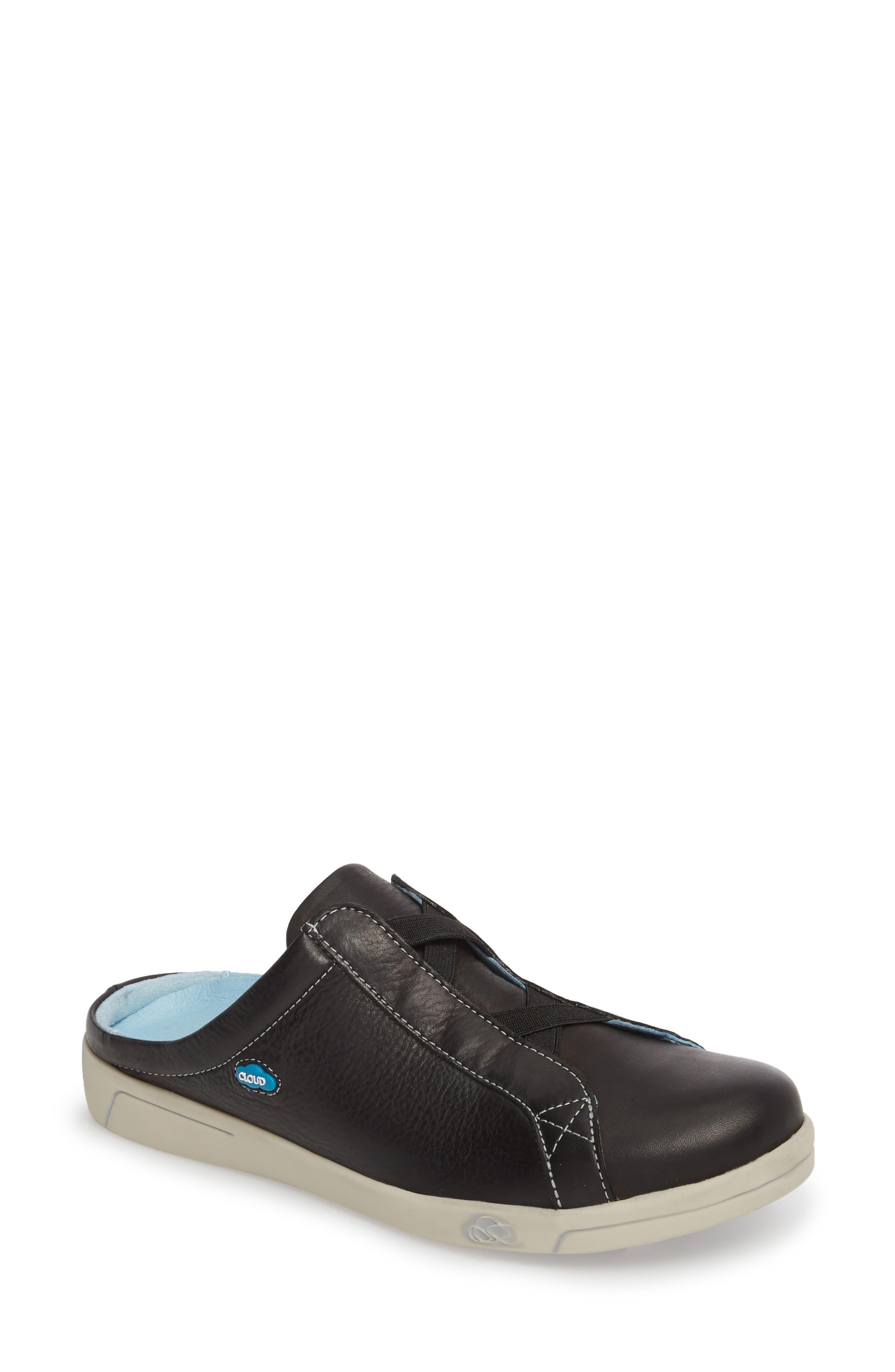 Arizona Sneaker,                             Main thumbnail 1, color,                             BLACK LEATHER