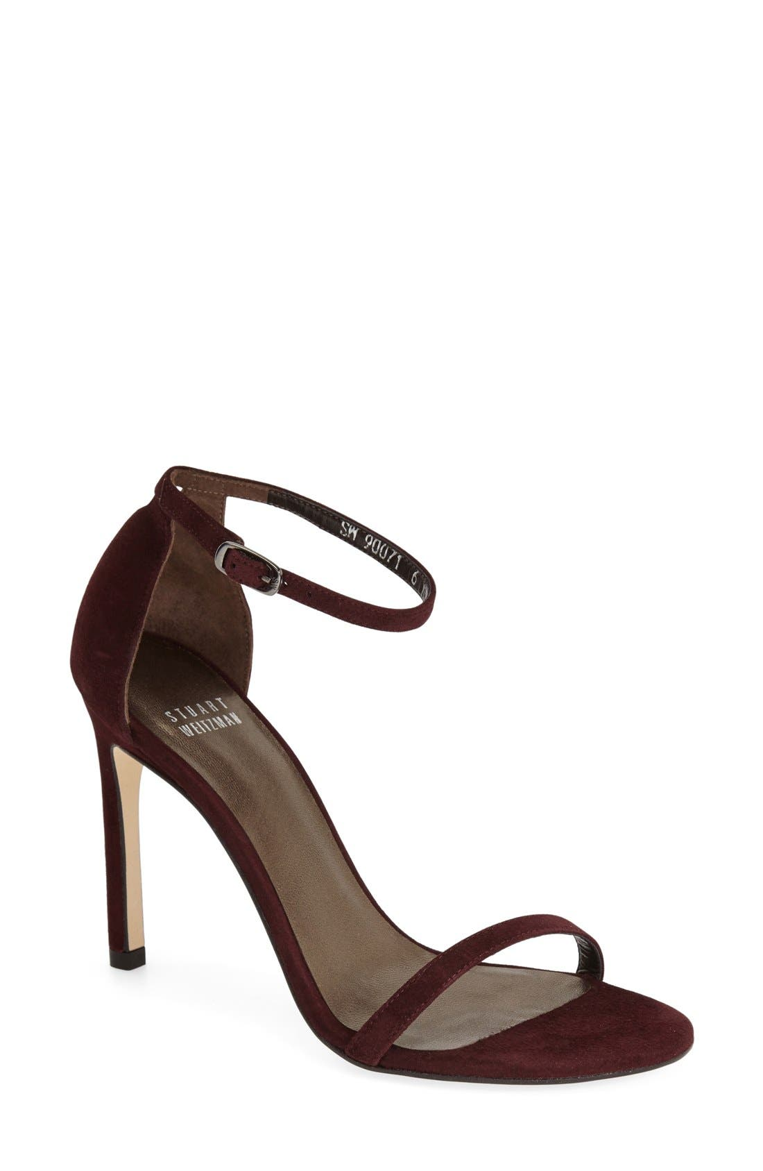 Nudistsong Ankle Strap Sandal,                             Main thumbnail 34, color,
