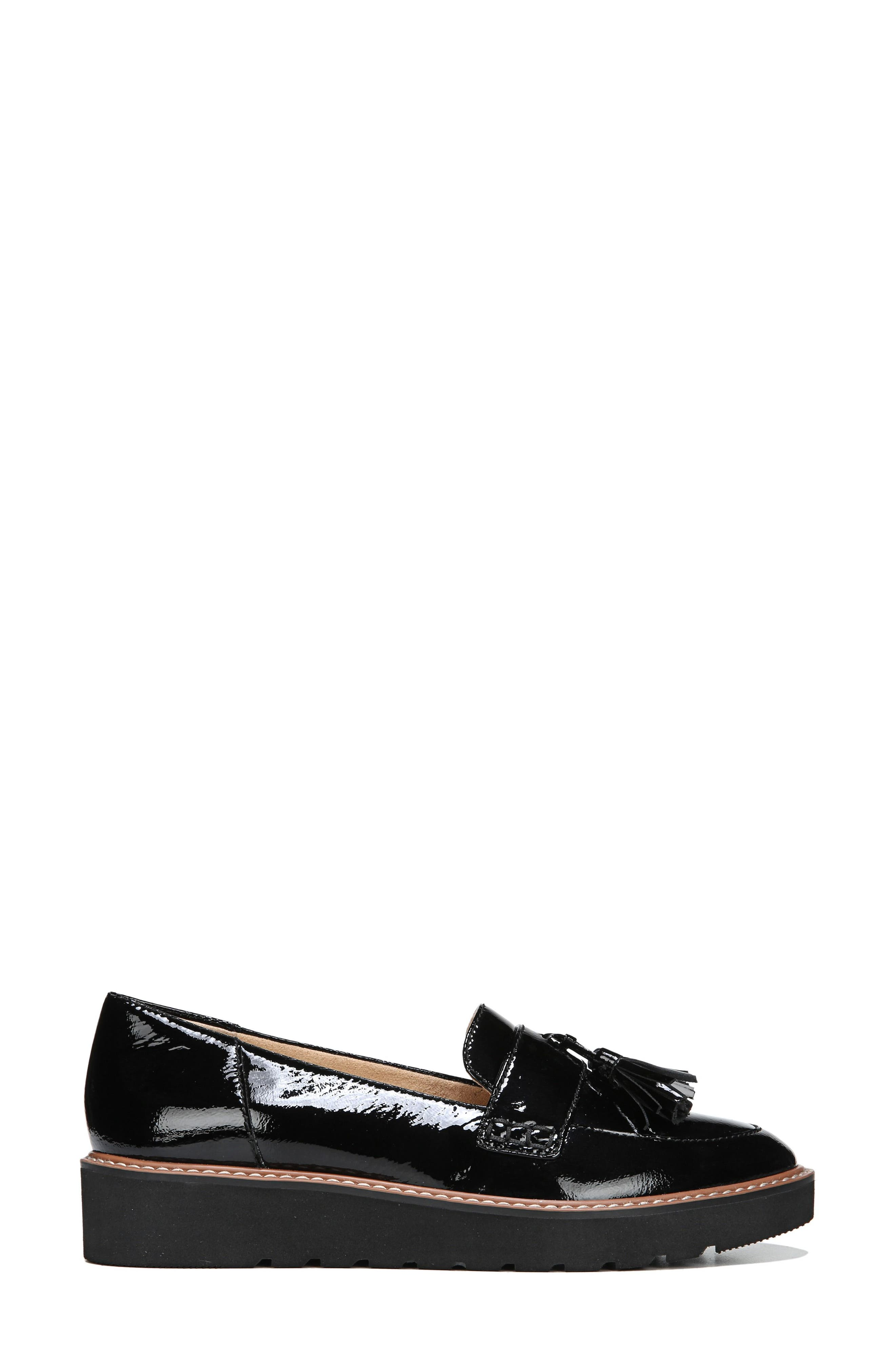 August Loafer,                             Alternate thumbnail 3, color,                             BLACK PATENT LEATHER