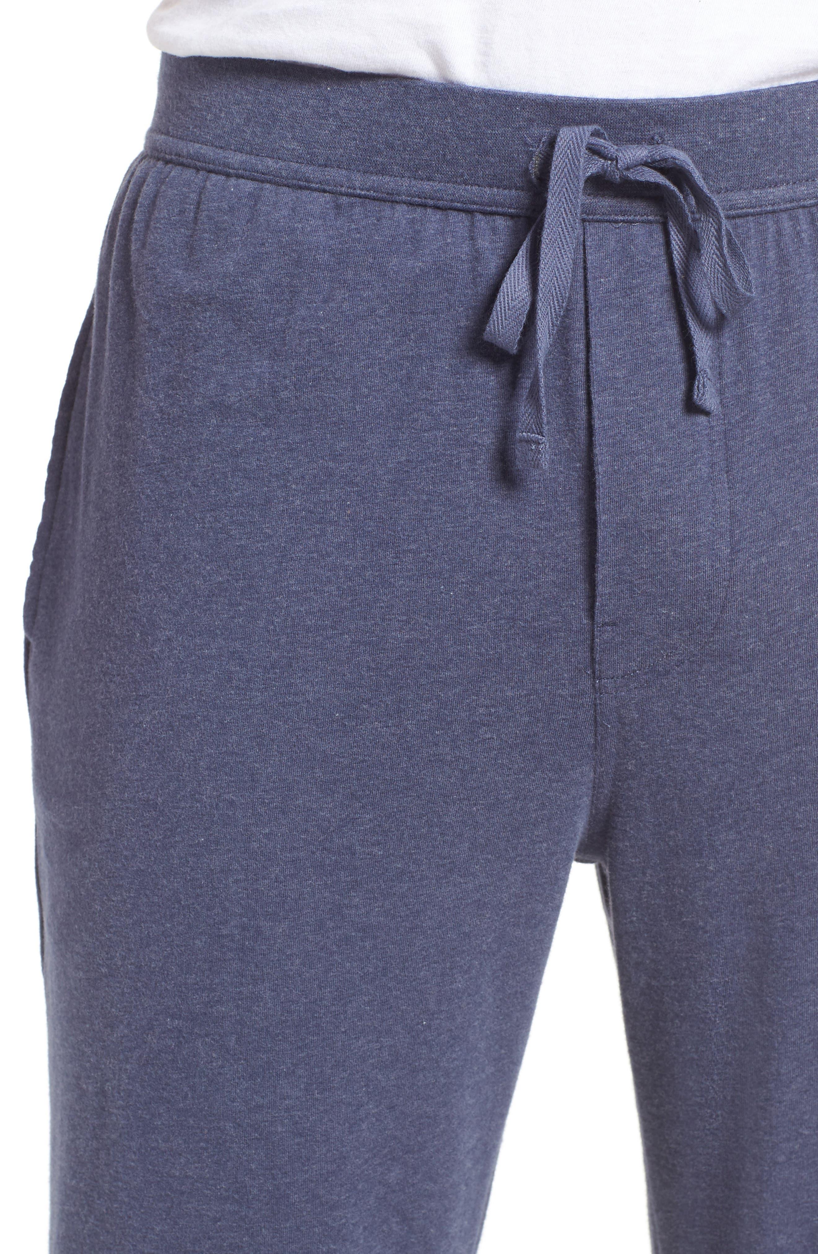 Stretch Cotton Lounge Pants,                             Alternate thumbnail 8, color,