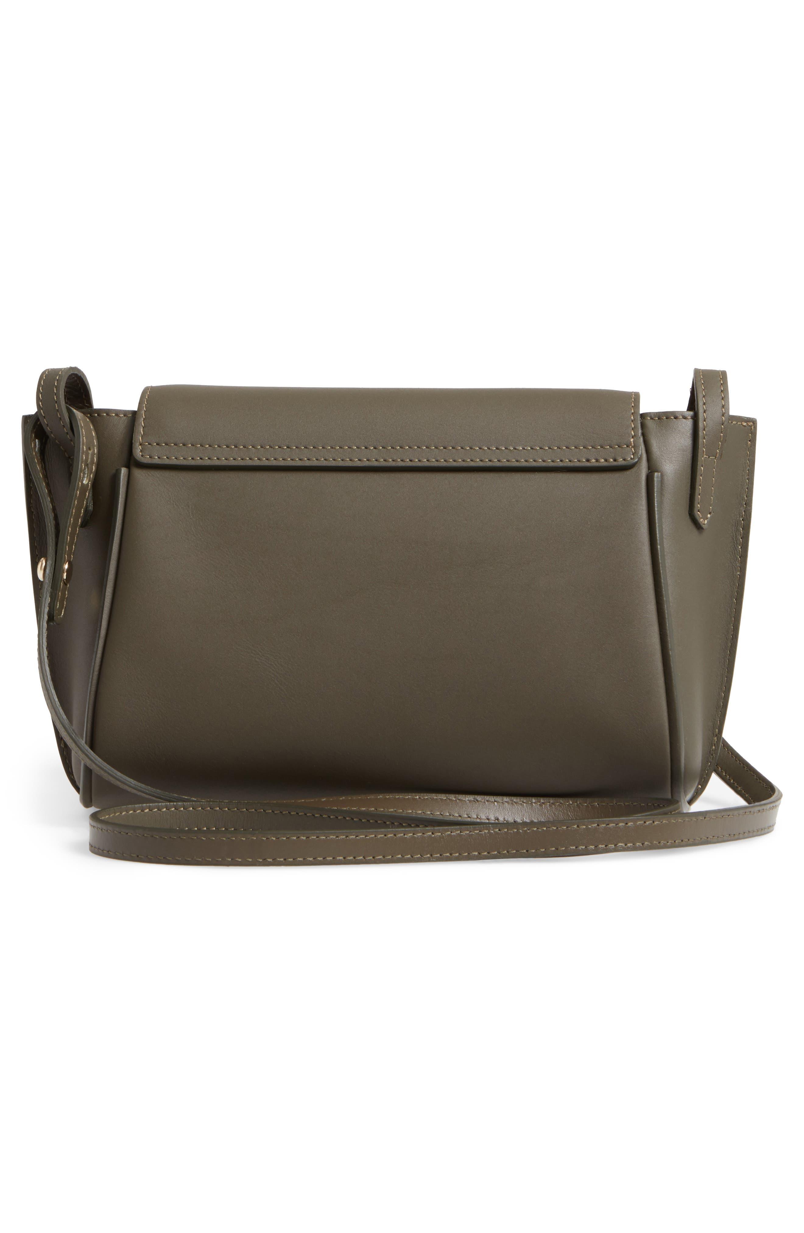Small Penelope Leather Crossbody Bag,                             Alternate thumbnail 3, color,                             300