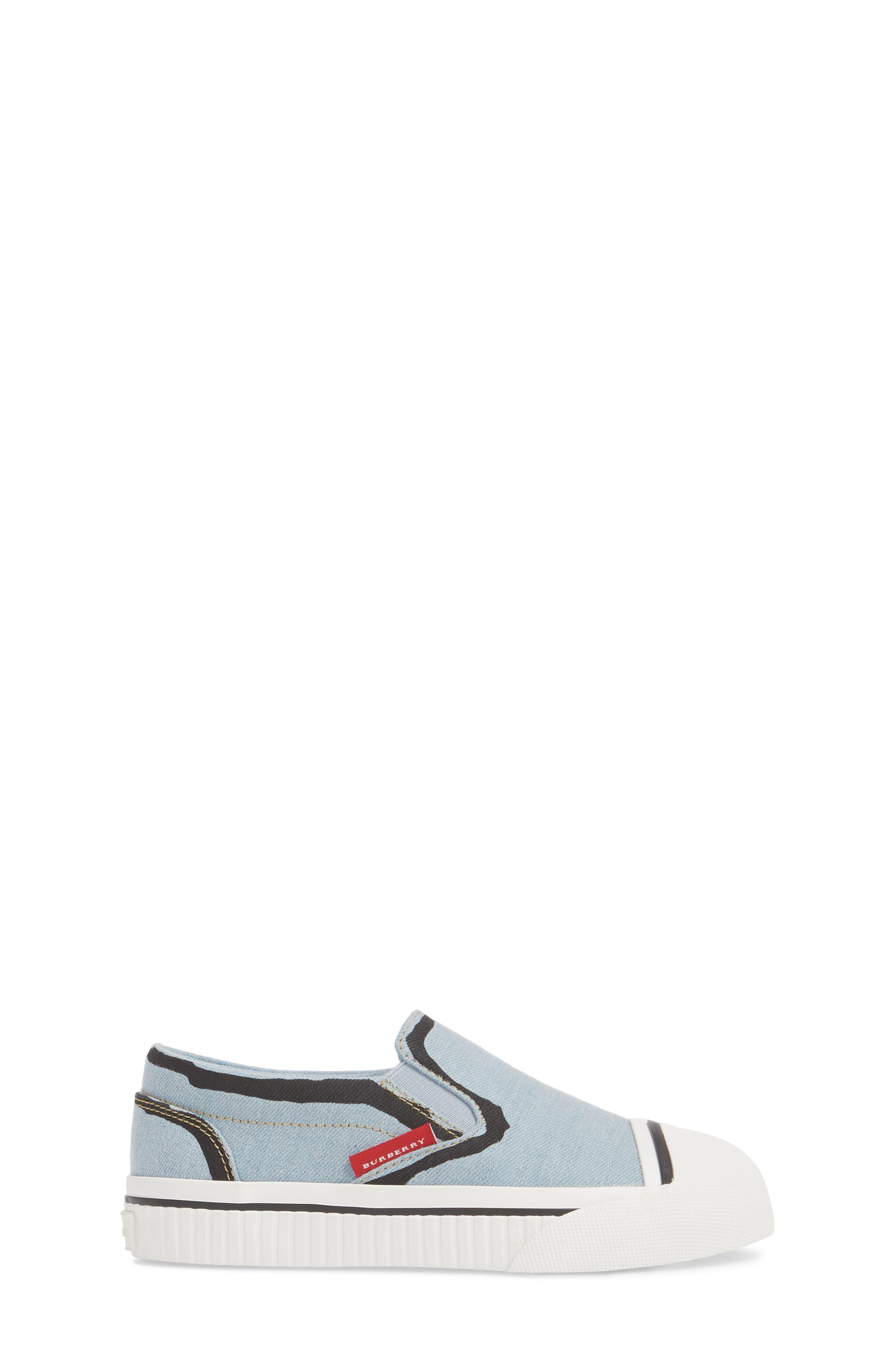 Lipton Slip-On Sneaker,                             Alternate thumbnail 3, color,                             LIGHT BLUE