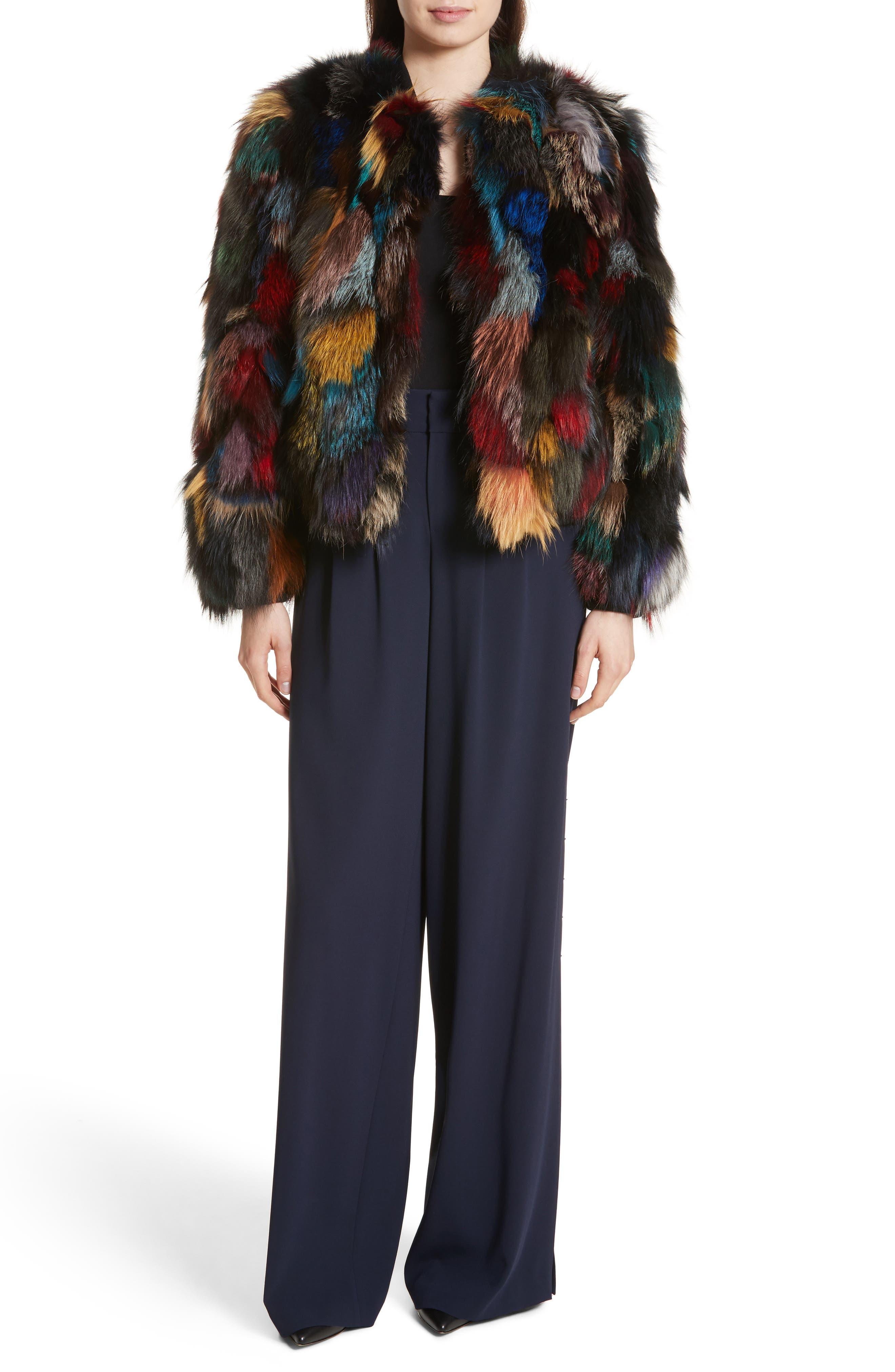 Shavon High Waist Side Slit Flare Pants,                             Alternate thumbnail 6, color,                             400