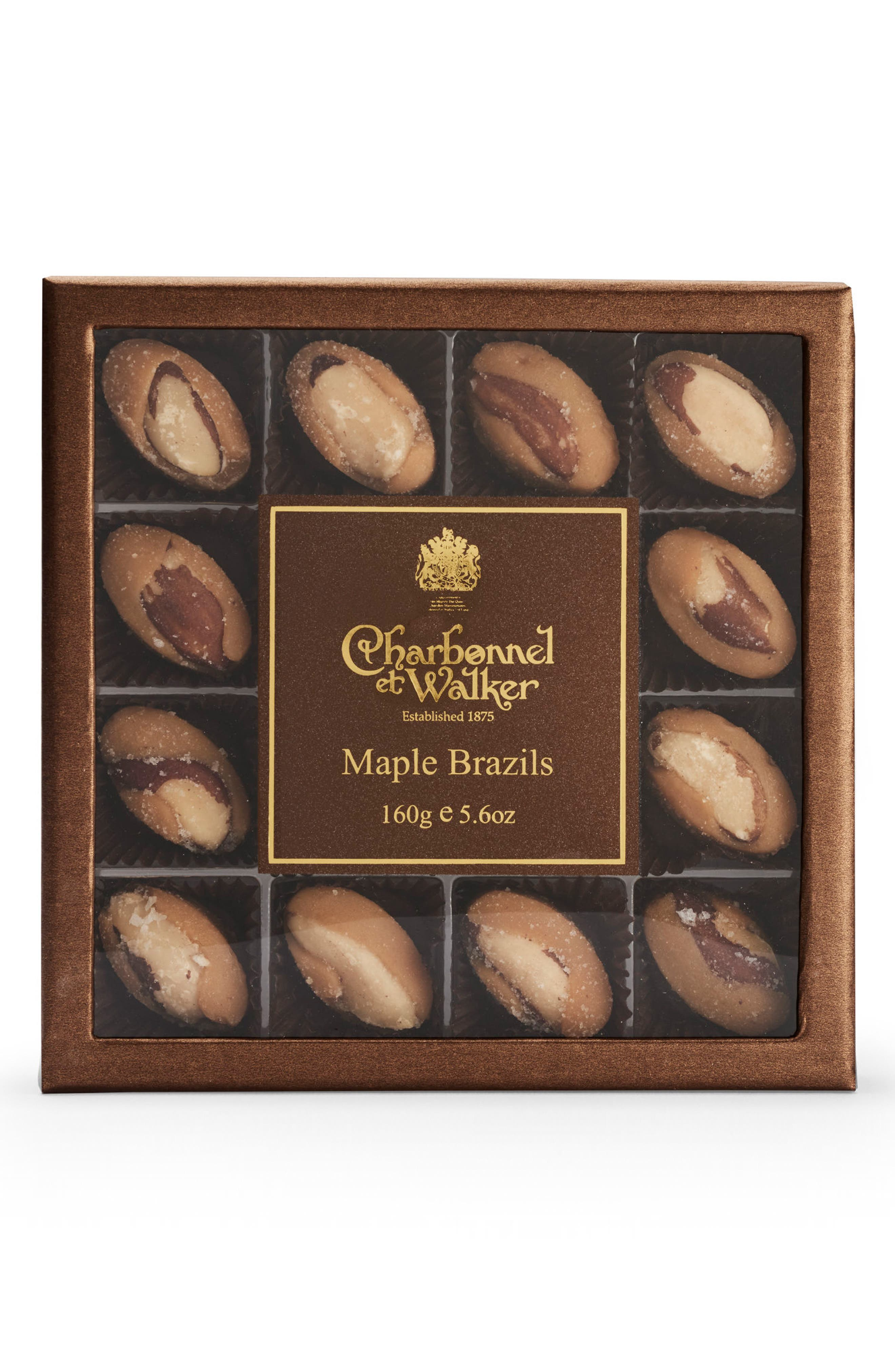 Maple Brazil Nuts in Gift Box,                             Main thumbnail 1, color,                             200