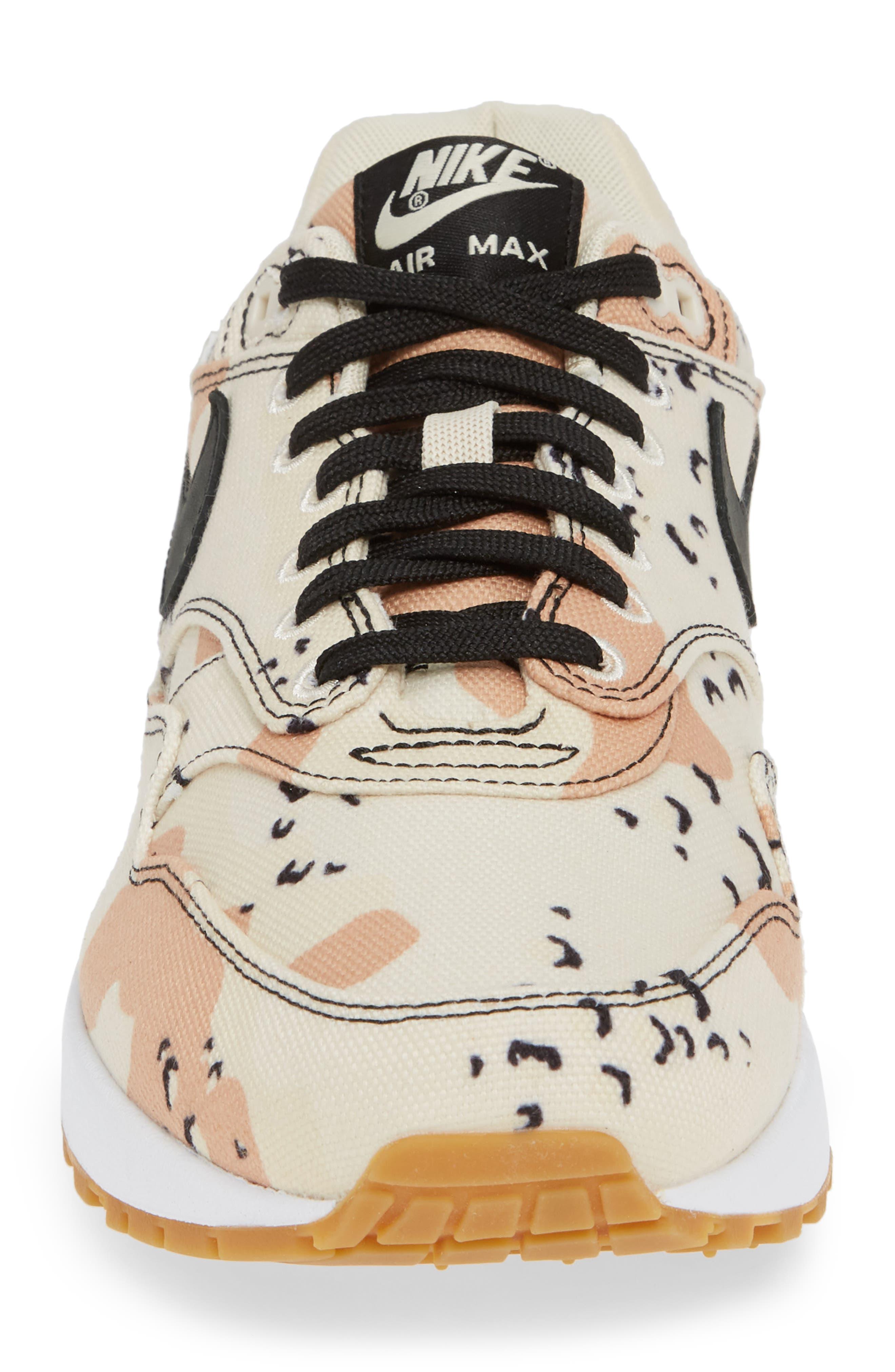 Air Max 1 Premium Sneaker,                             Alternate thumbnail 4, color,                             204