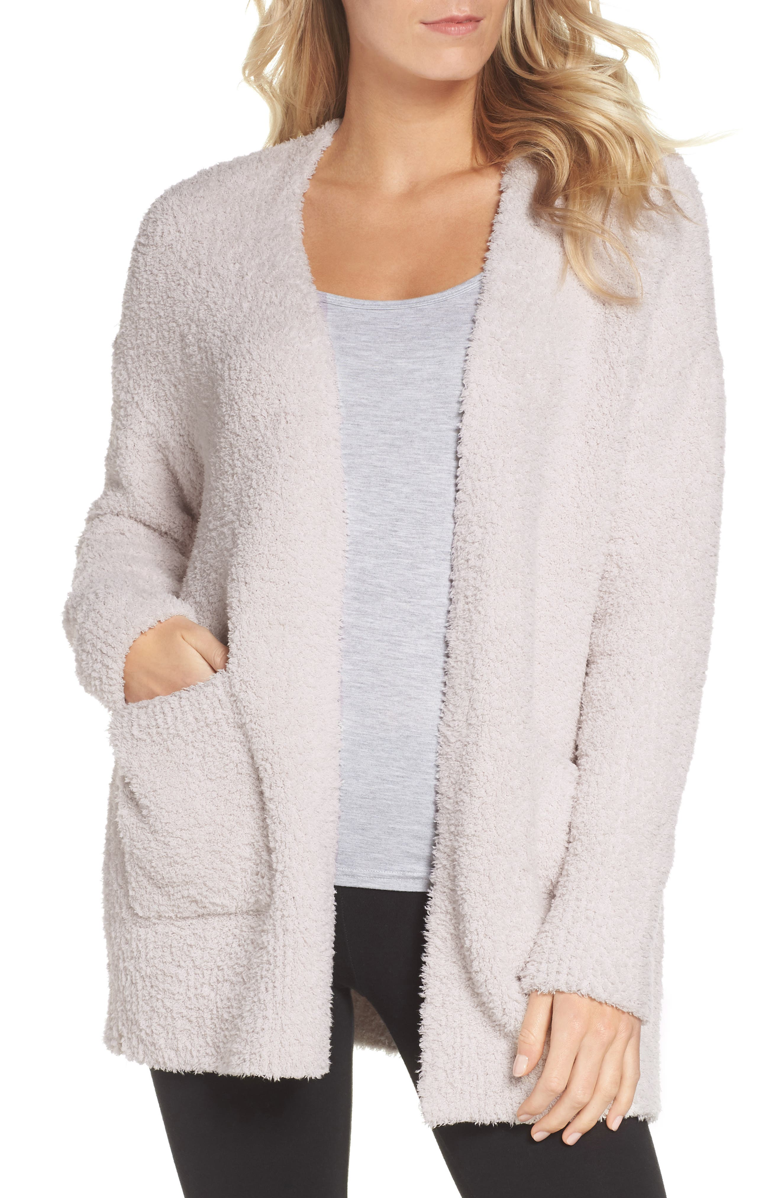 CozyChic<sup>®</sup> Cardigan,                             Main thumbnail 1, color,                             ALMOND