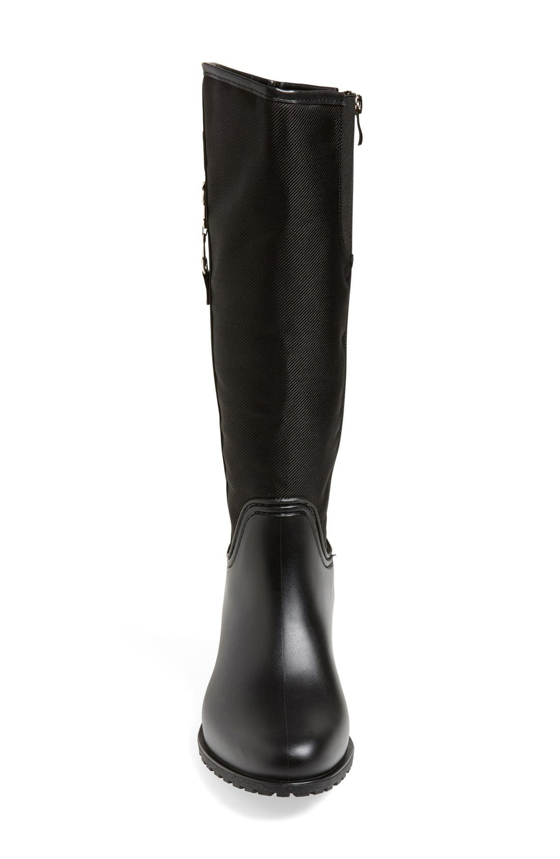 'Fairfield' Tall Rain Boot,                             Alternate thumbnail 3, color,                             006