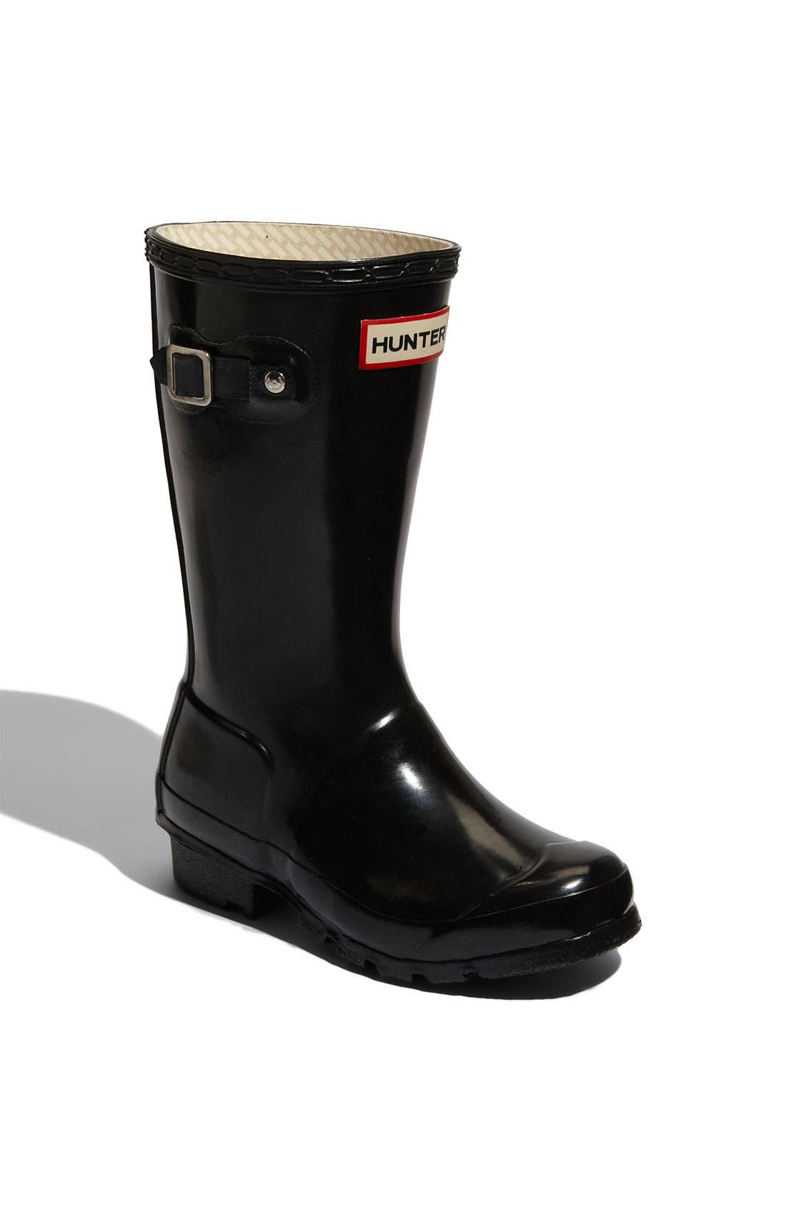 'Original Gloss' Rain Boot,                             Main thumbnail 1, color,                             001