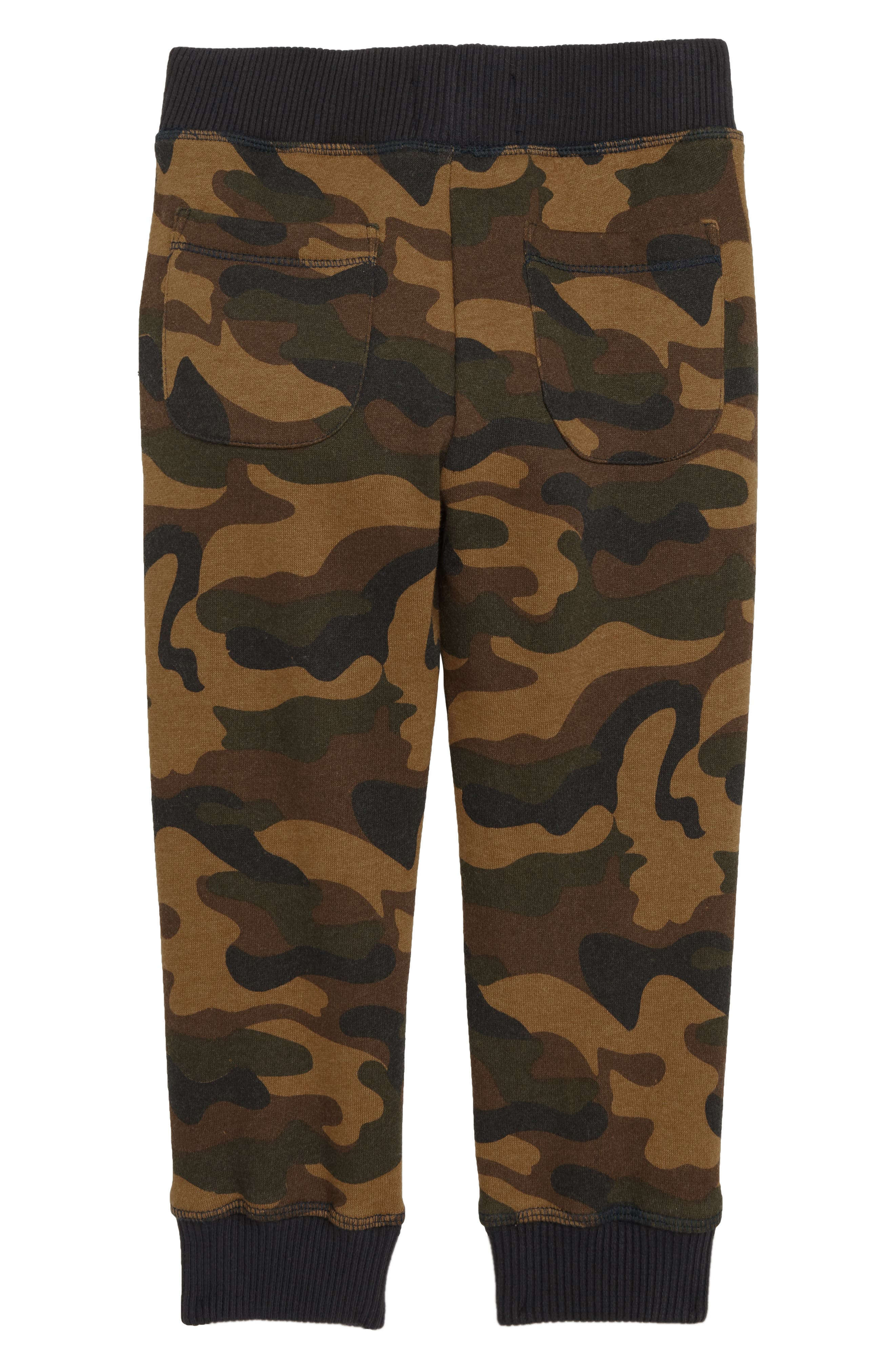Zane Camo Jogger Pants,                             Alternate thumbnail 2, color,                             OLIVE