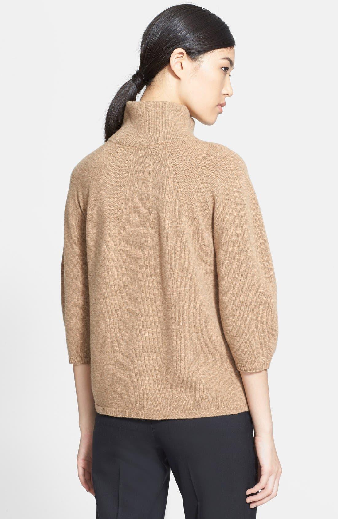 MAX MARA,                             'Anselmo' Wool & Cashmere Sweater,                             Alternate thumbnail 3, color,                             232