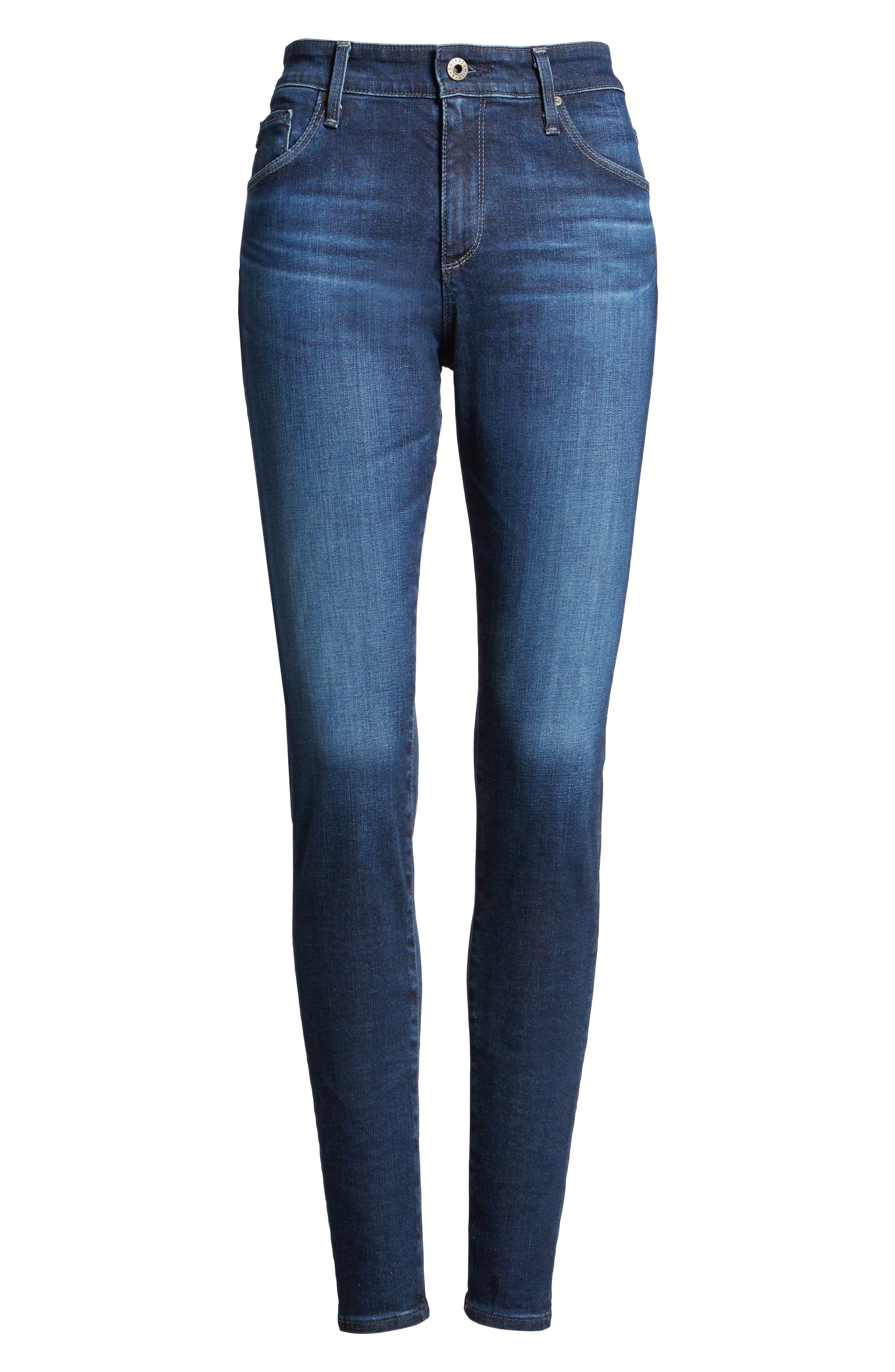 'The Farrah' High Rise Skinny Jeans,                             Alternate thumbnail 54, color,