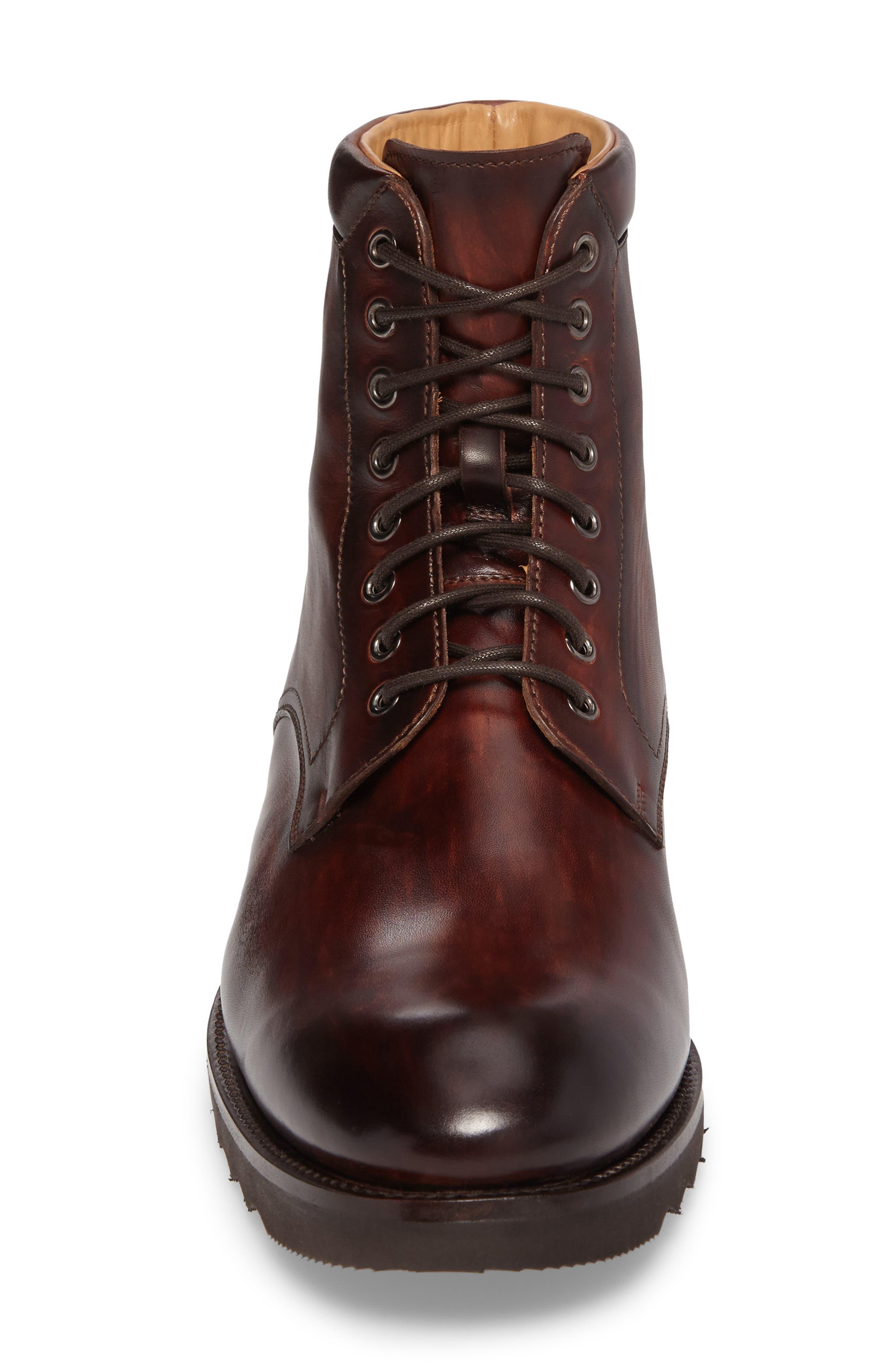 Saxon Plain Toe Boot,                             Alternate thumbnail 4, color,                             210