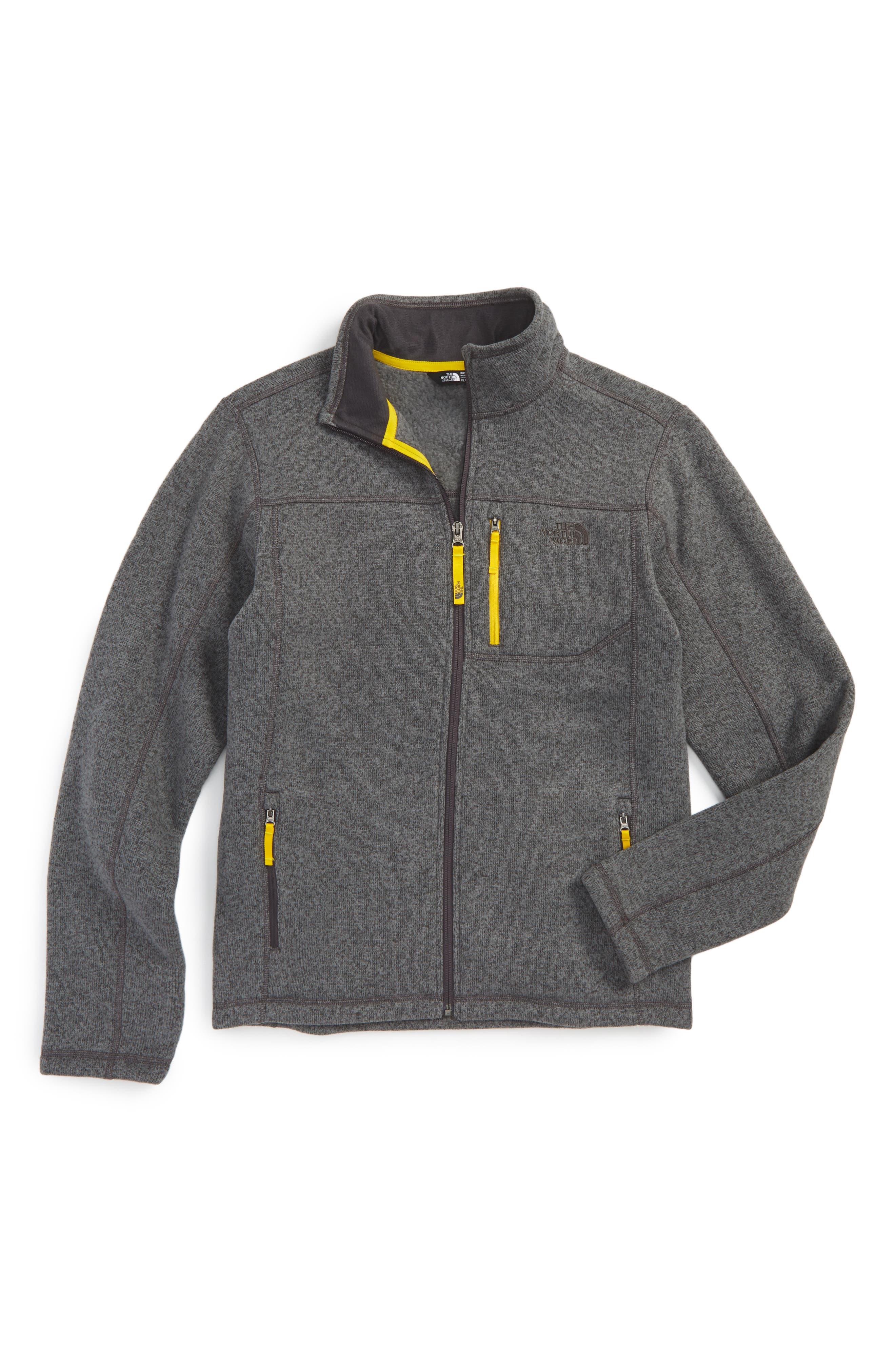 Gordon Lyons Sweater Fleece Zip Jacket,                             Main thumbnail 2, color,