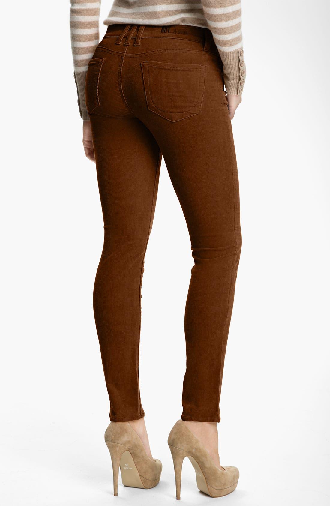 'Diana' Stretch Corduroy Skinny Pants,                             Alternate thumbnail 73, color,