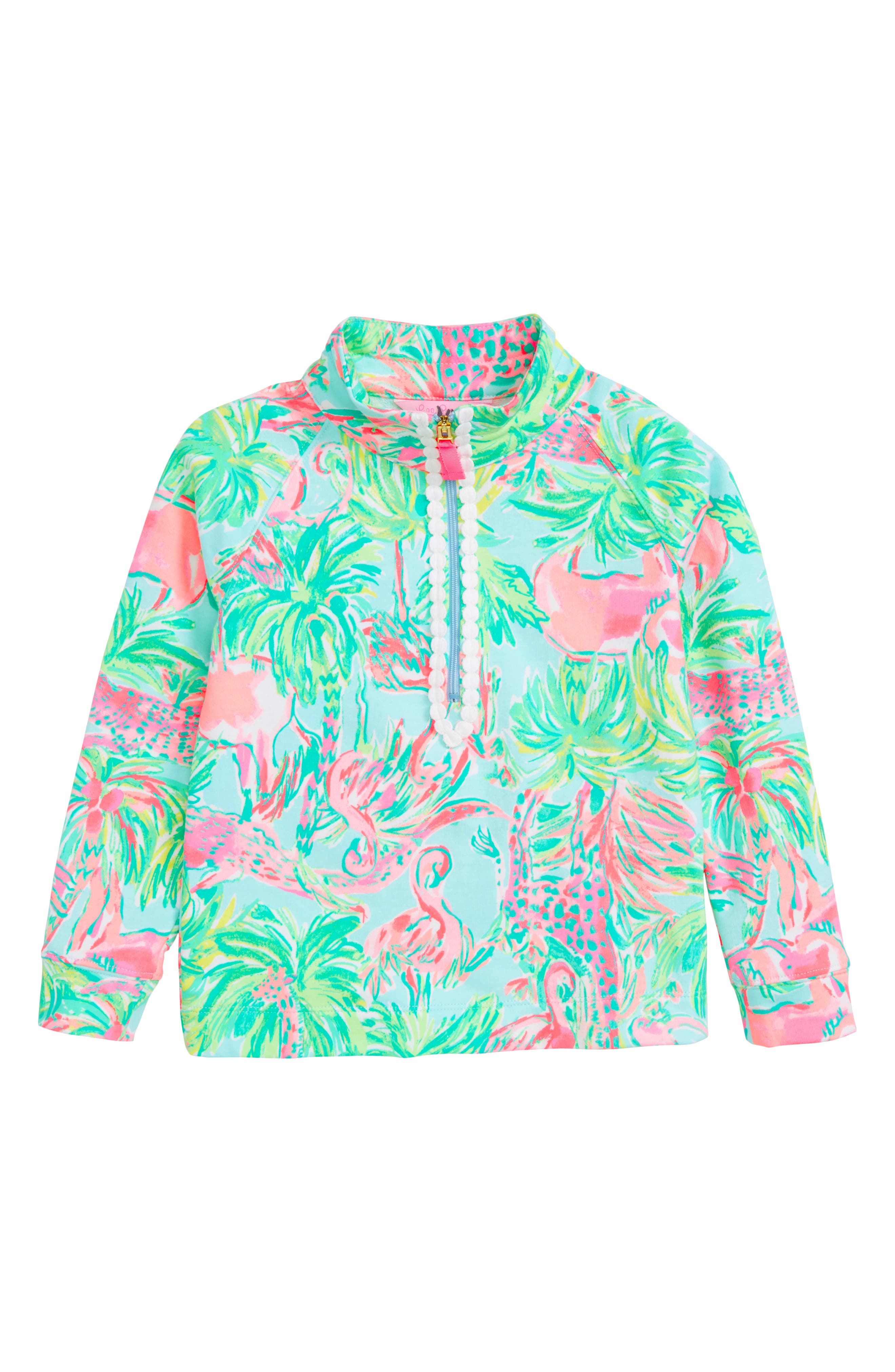 LILLY PULITZER<SUP>®</SUP> Little Skipper Pullover, Main, color, 400