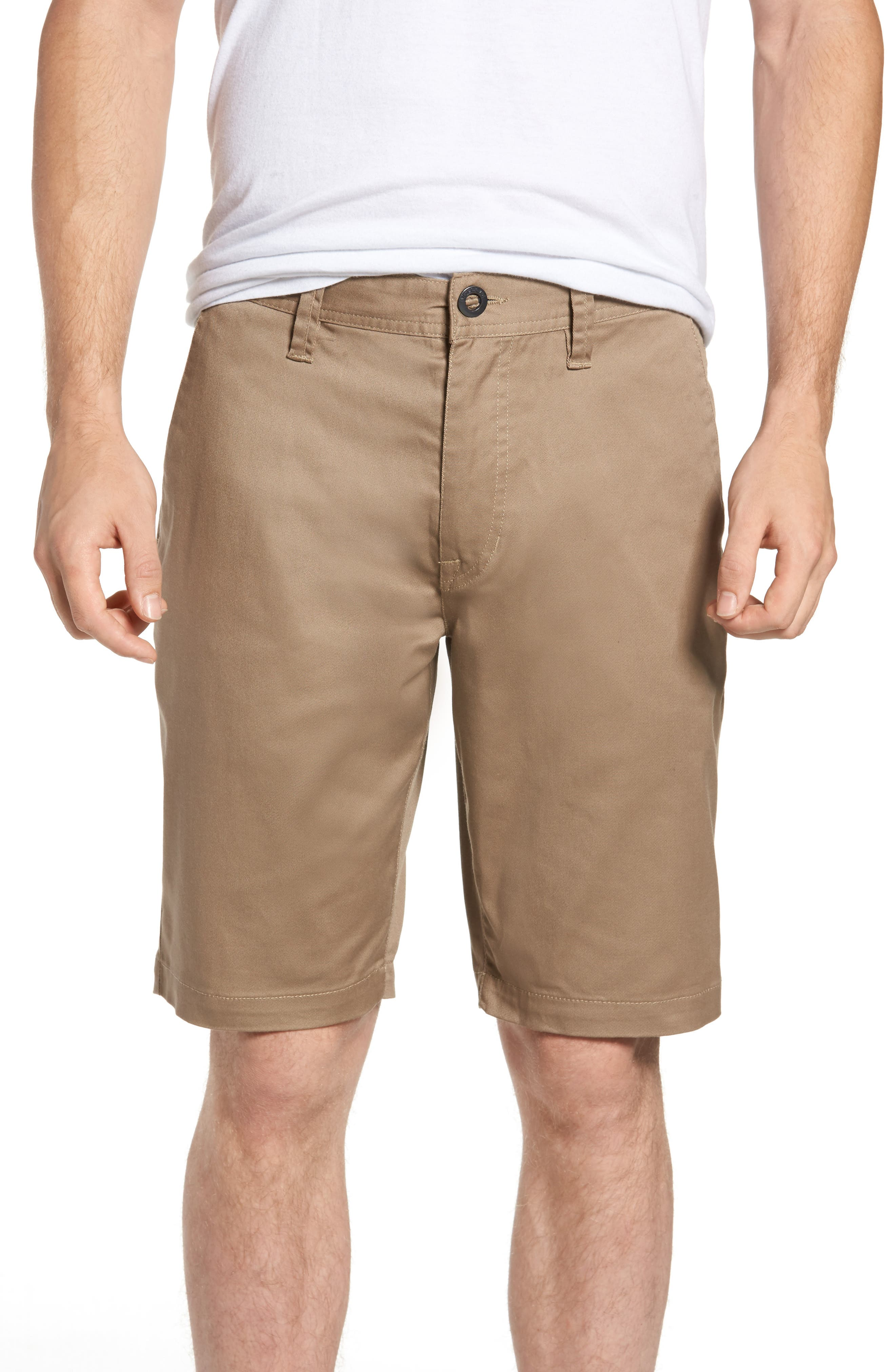 'Modern' Stretch Chino Shorts,                             Alternate thumbnail 20, color,