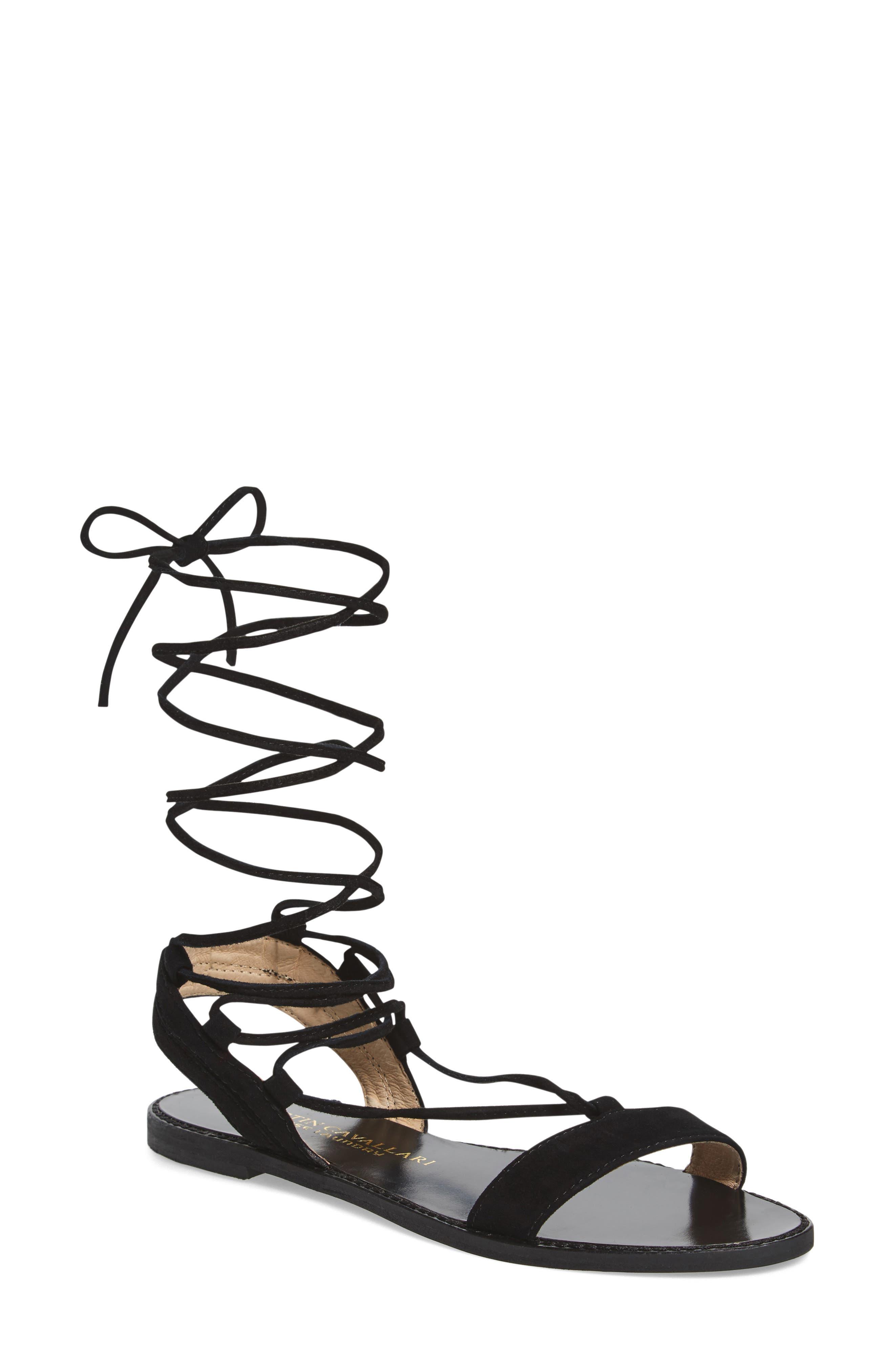 Brea Ankle Wrap Sandal,                             Main thumbnail 1, color,