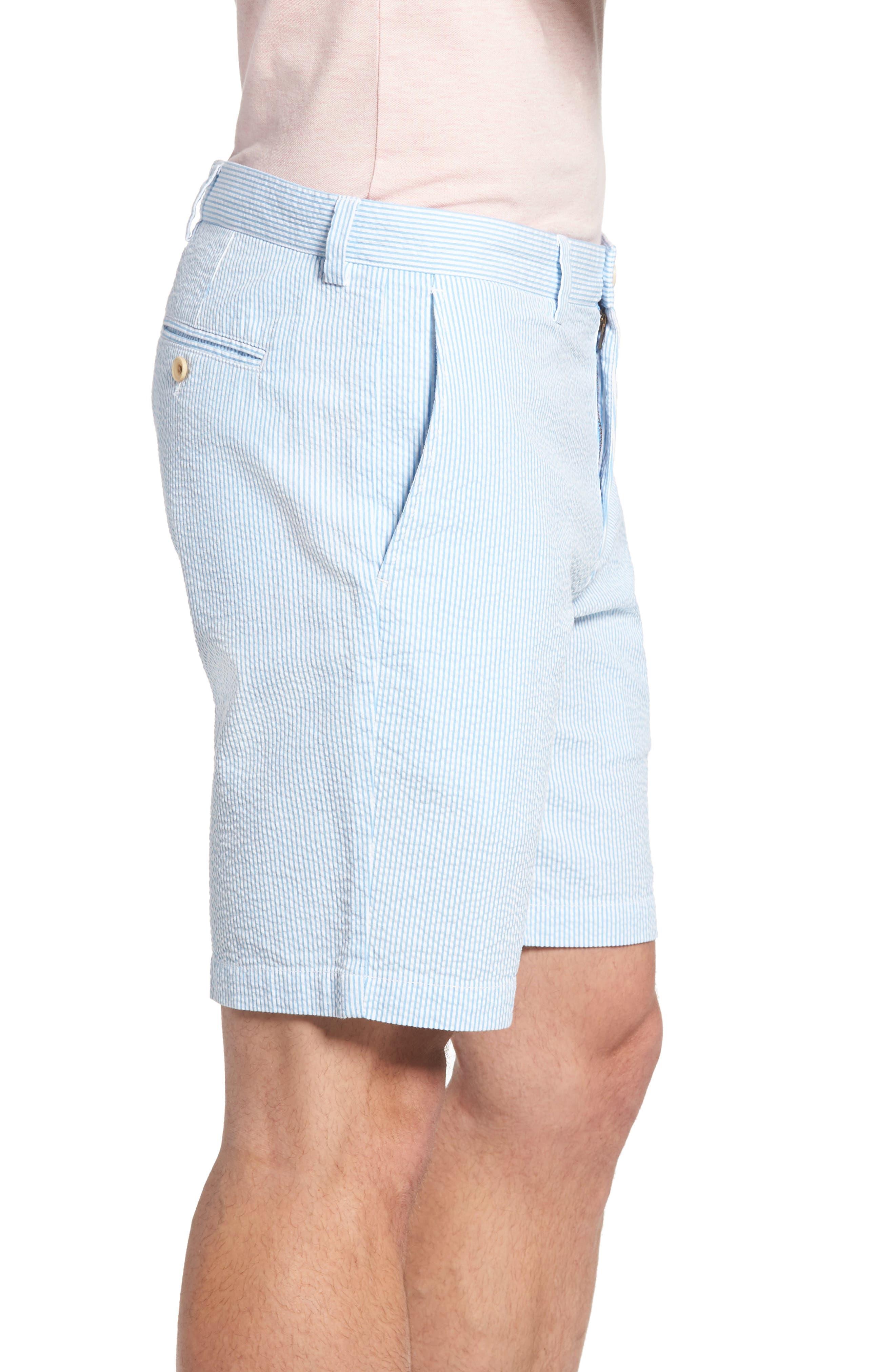 9 Inch Seersucker Shorts,                             Alternate thumbnail 5, color,
