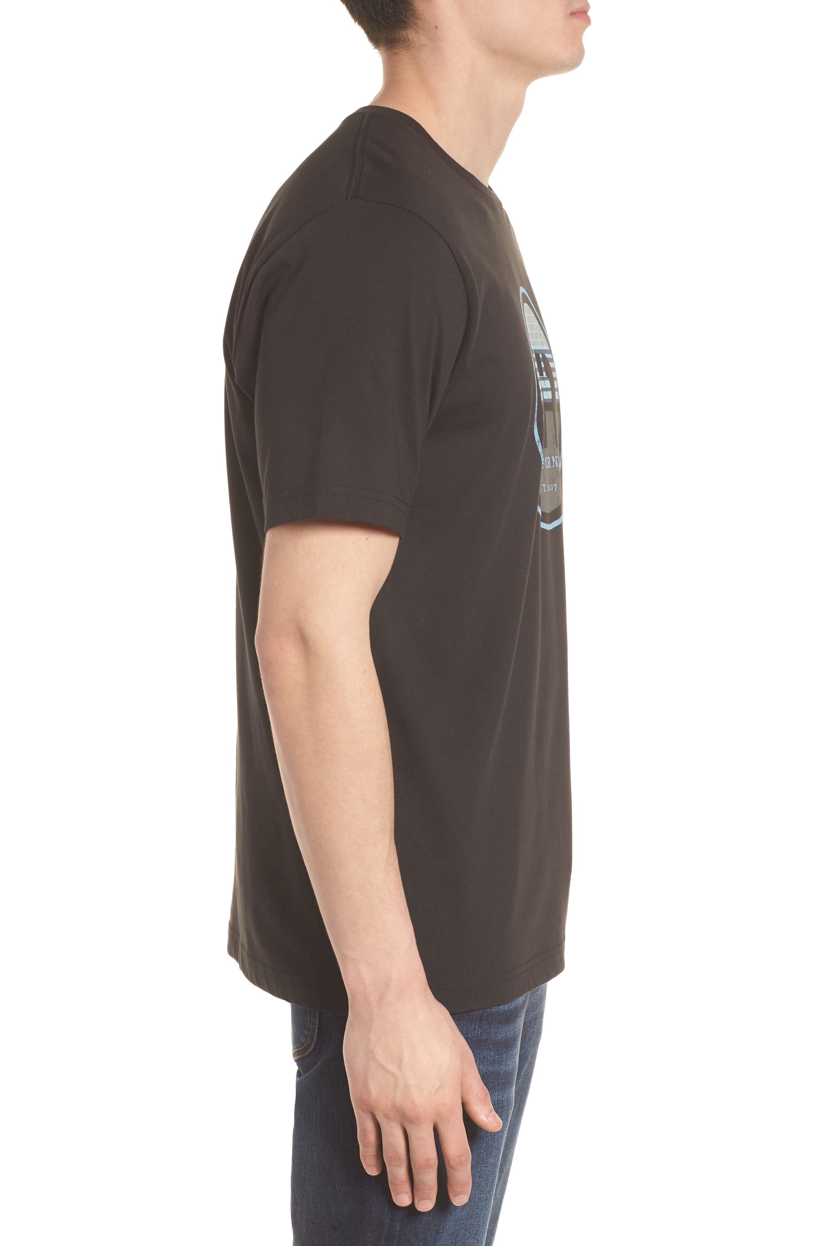 B-Stern Graphic T-Shirt,                             Alternate thumbnail 3, color,                             001