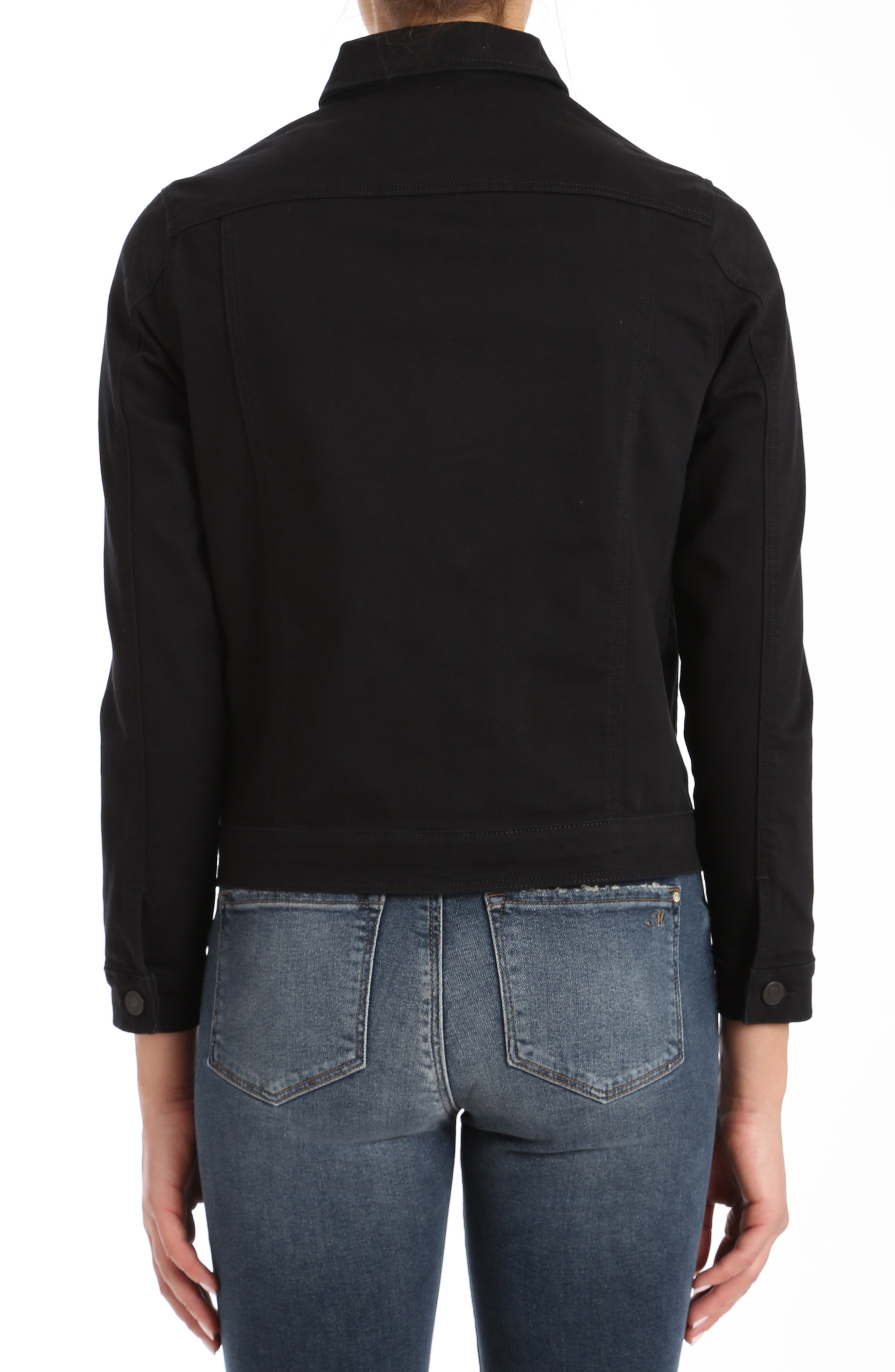 Katy Black Comfort Jacket,                             Alternate thumbnail 2, color,                             001