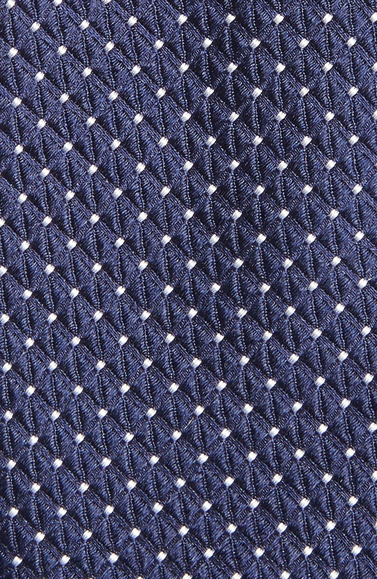 Nordstrom Men's Shop Hammond Neat Silk Tie,                             Alternate thumbnail 7, color,