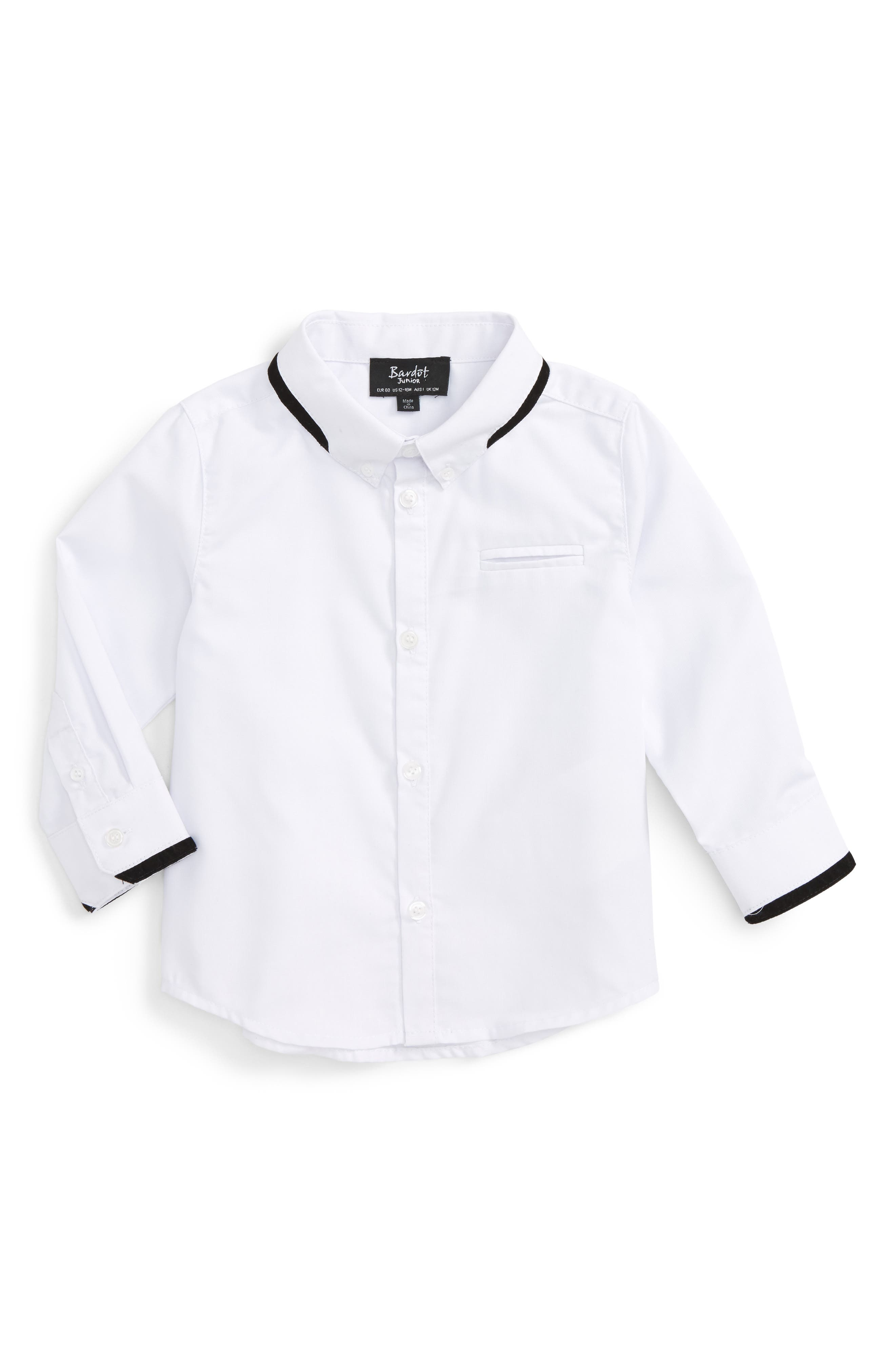 Woven Shirt,                         Main,                         color, 100