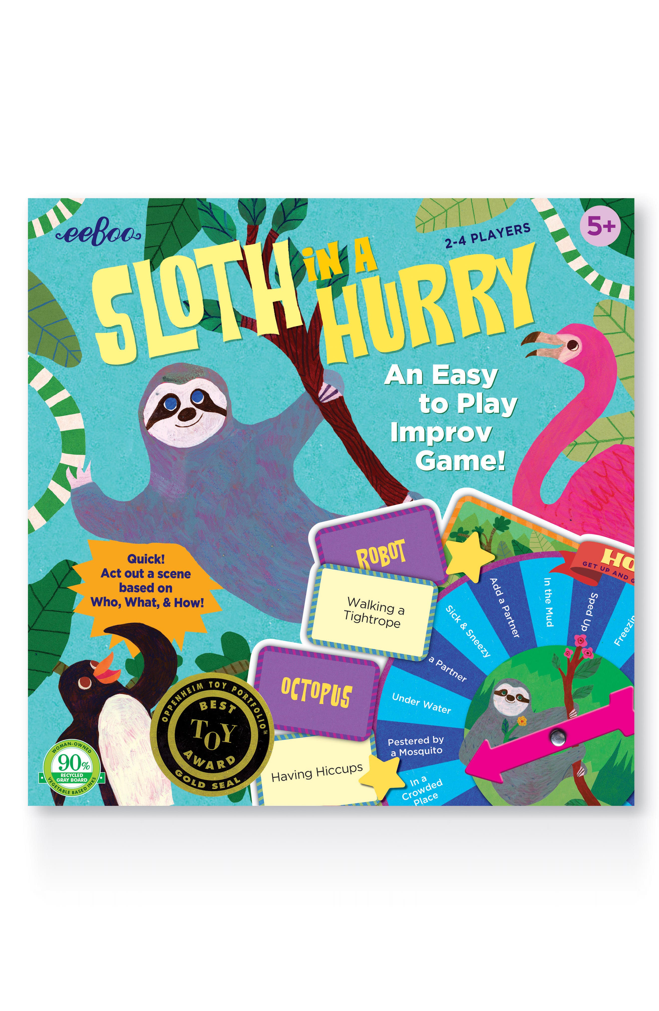 Sloth in a Hurry Game,                             Main thumbnail 1, color,                             400