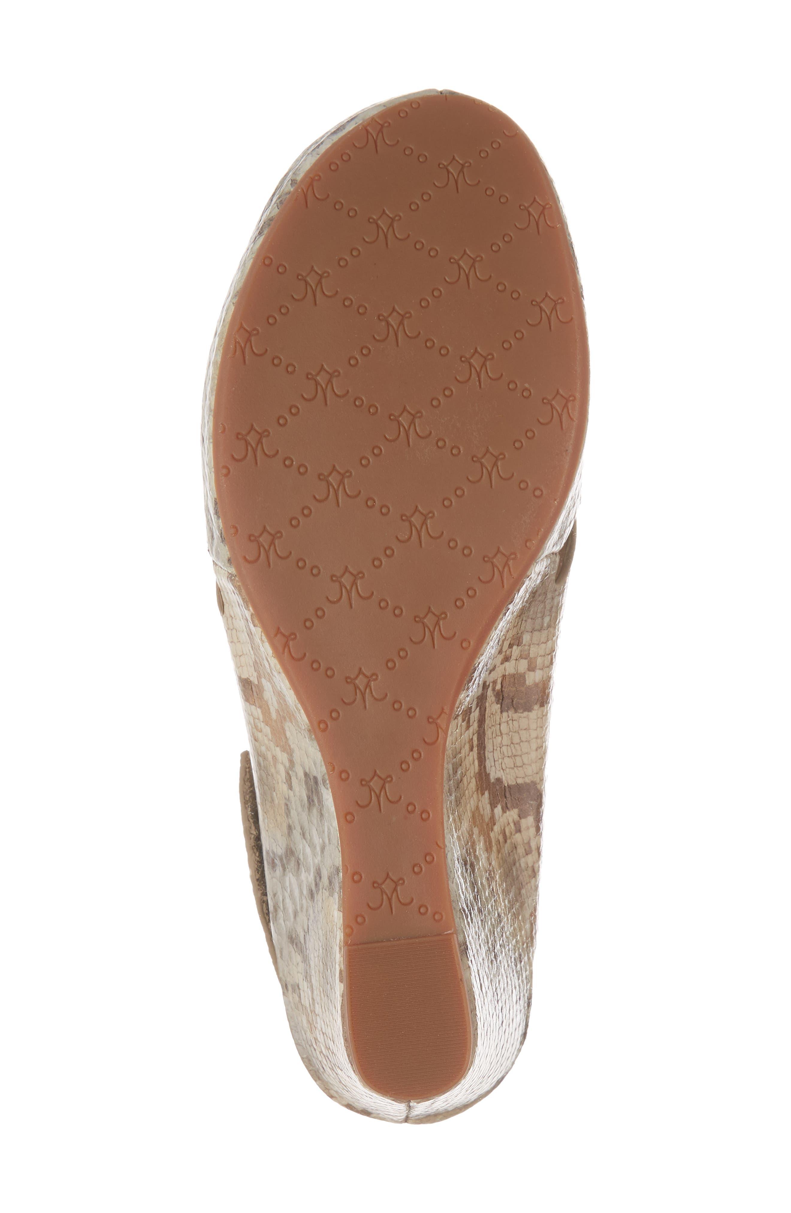 'Tori' Wedge Sandal,                             Alternate thumbnail 6, color,                             251