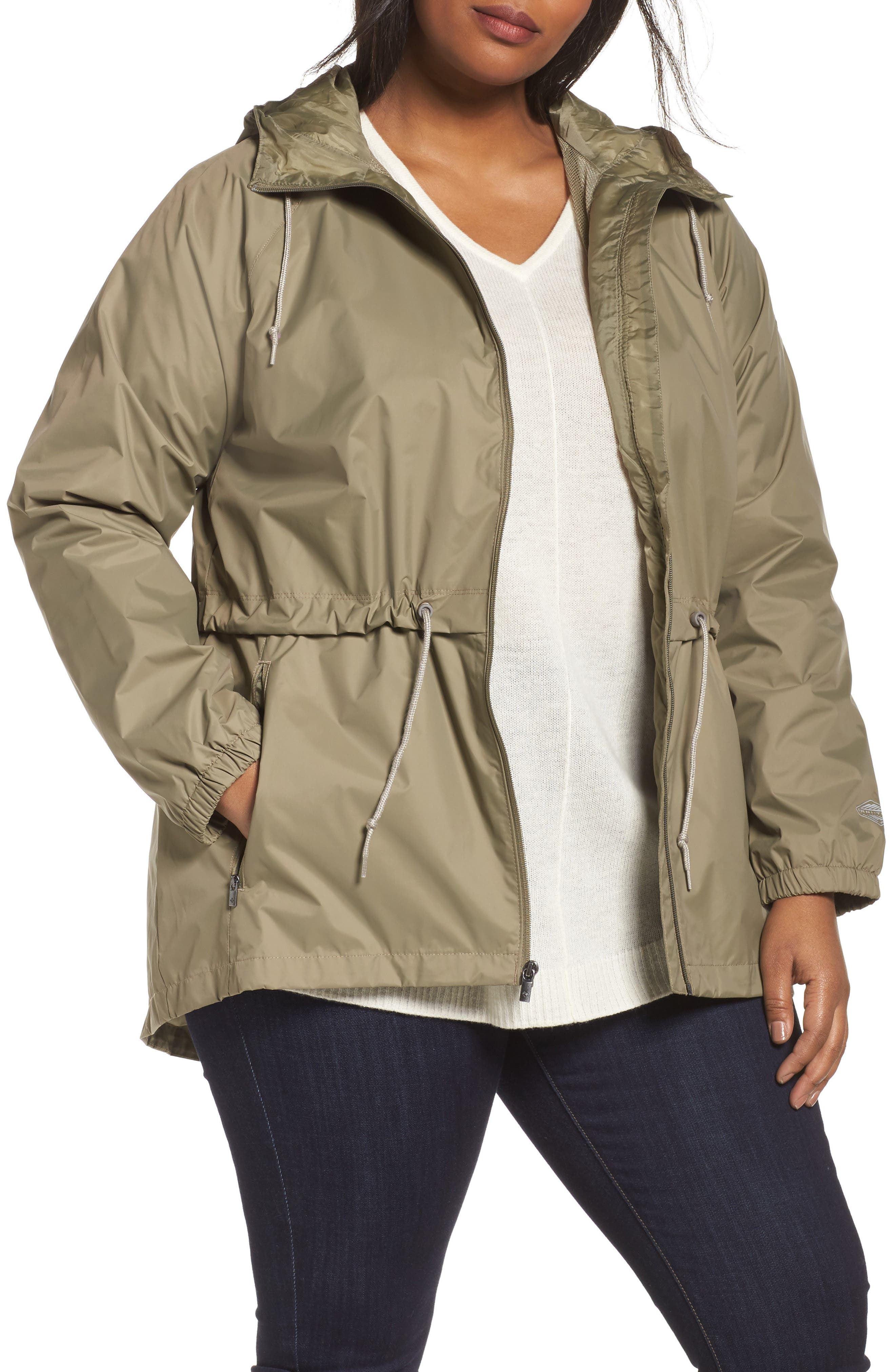 'Arcadia' Hooded Waterproof Casual Jacket,                             Main thumbnail 1, color,