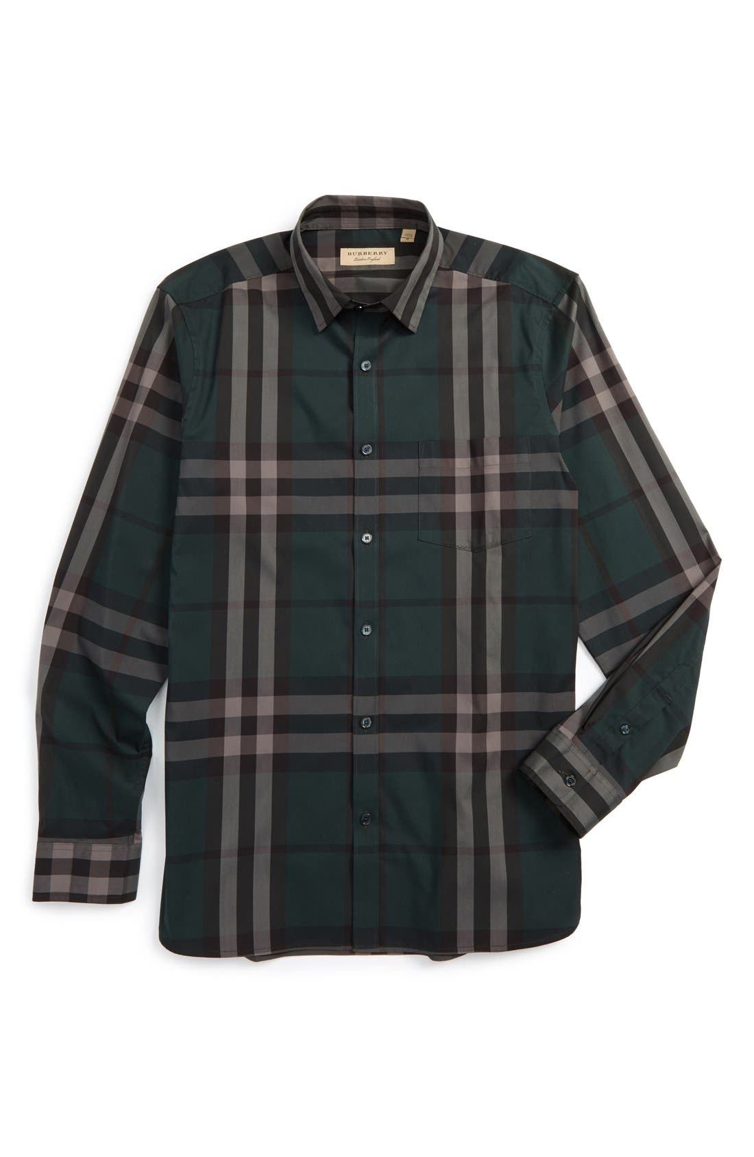 Nelson Check Sport Shirt,                             Main thumbnail 9, color,