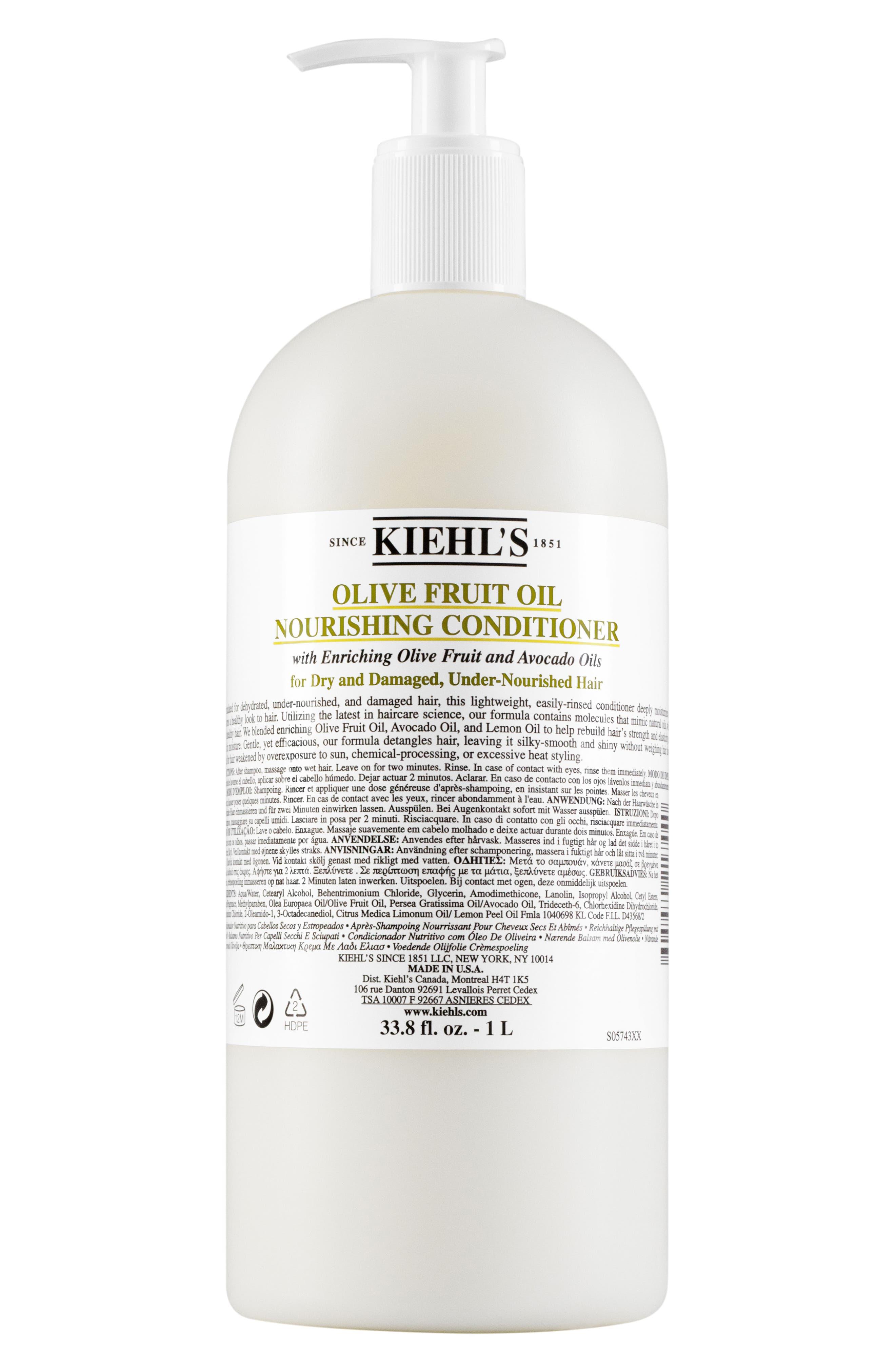 Olive Fruit Oil Nourishing Conditioner,                             Main thumbnail 1, color,                             NO COLOR