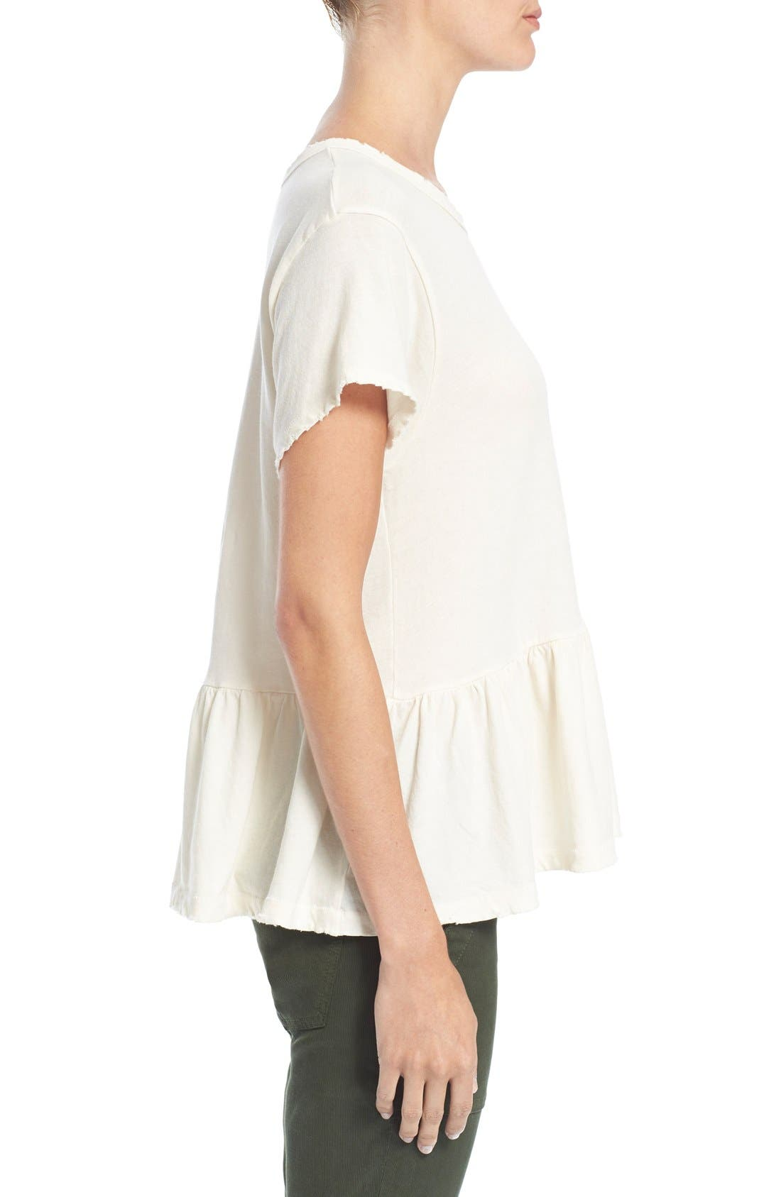 The Ruffle Tee,                             Alternate thumbnail 53, color,