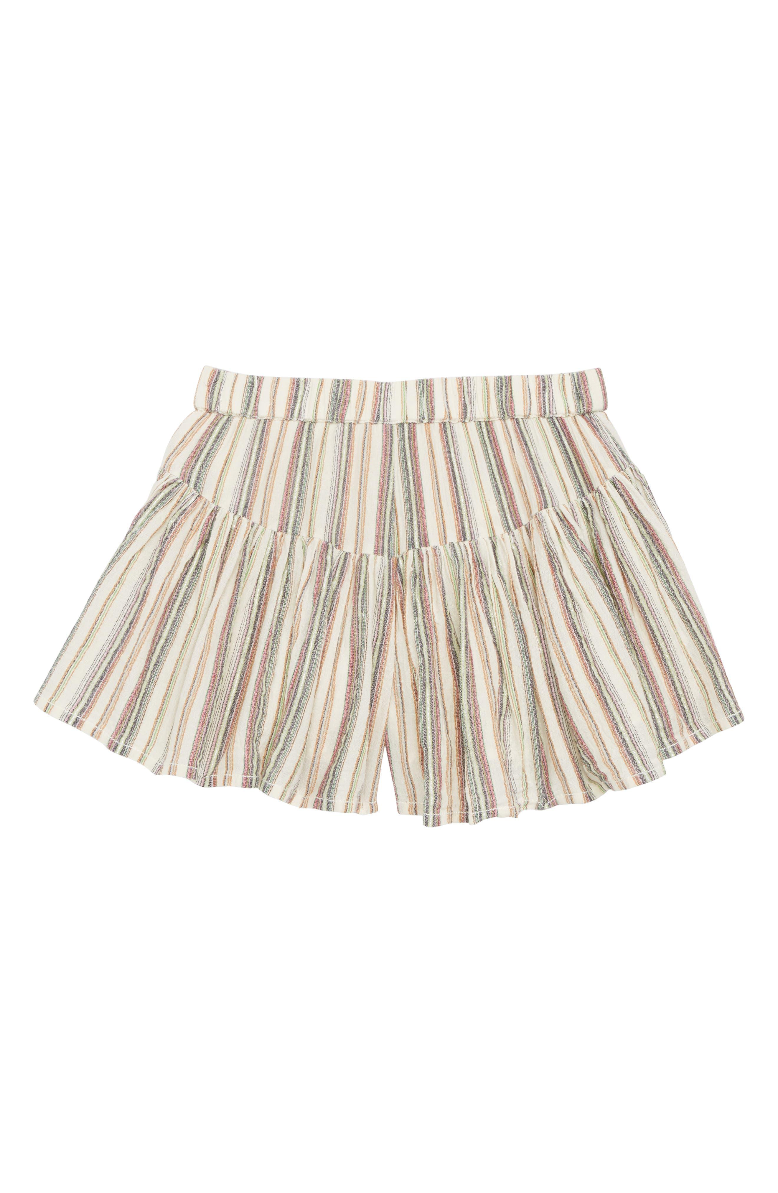 PEEK AREN'T YOU CURIOUS Peek Nora Stripe Shorts, Main, color, 900