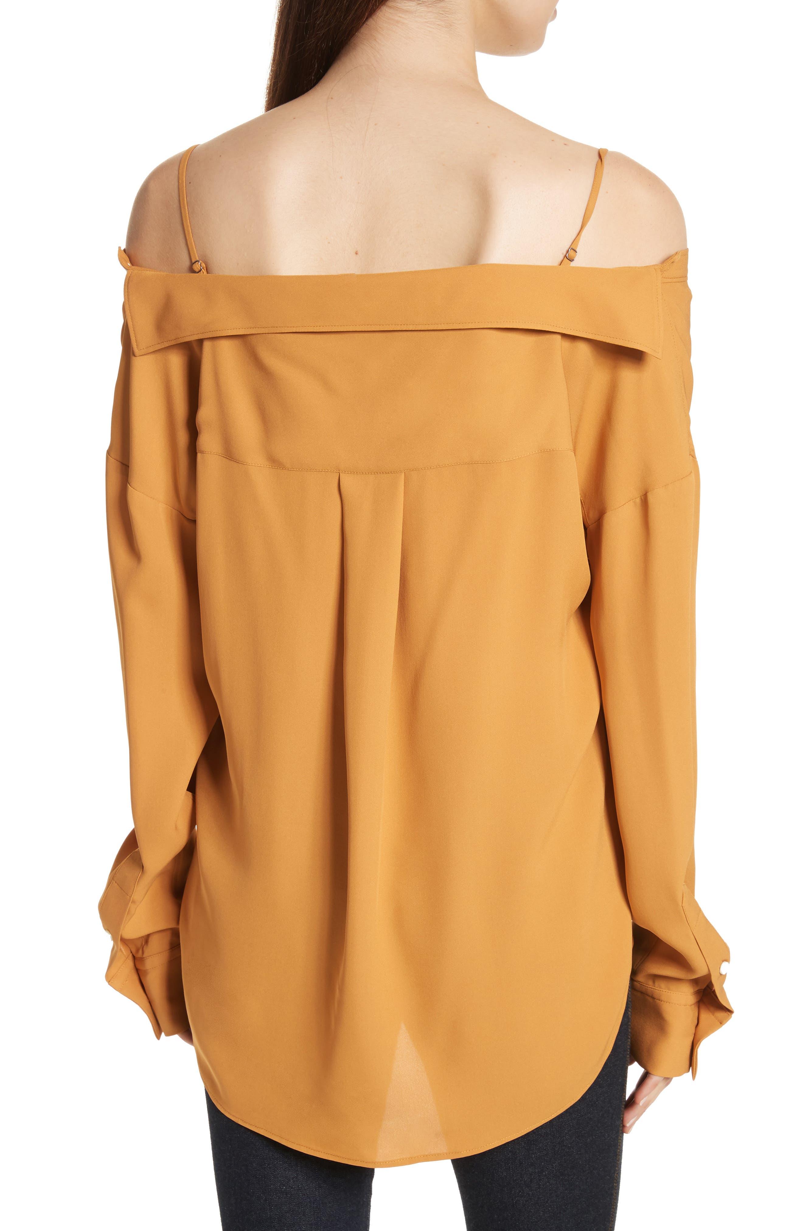 Tamalee Silk Shirt,                             Alternate thumbnail 7, color,