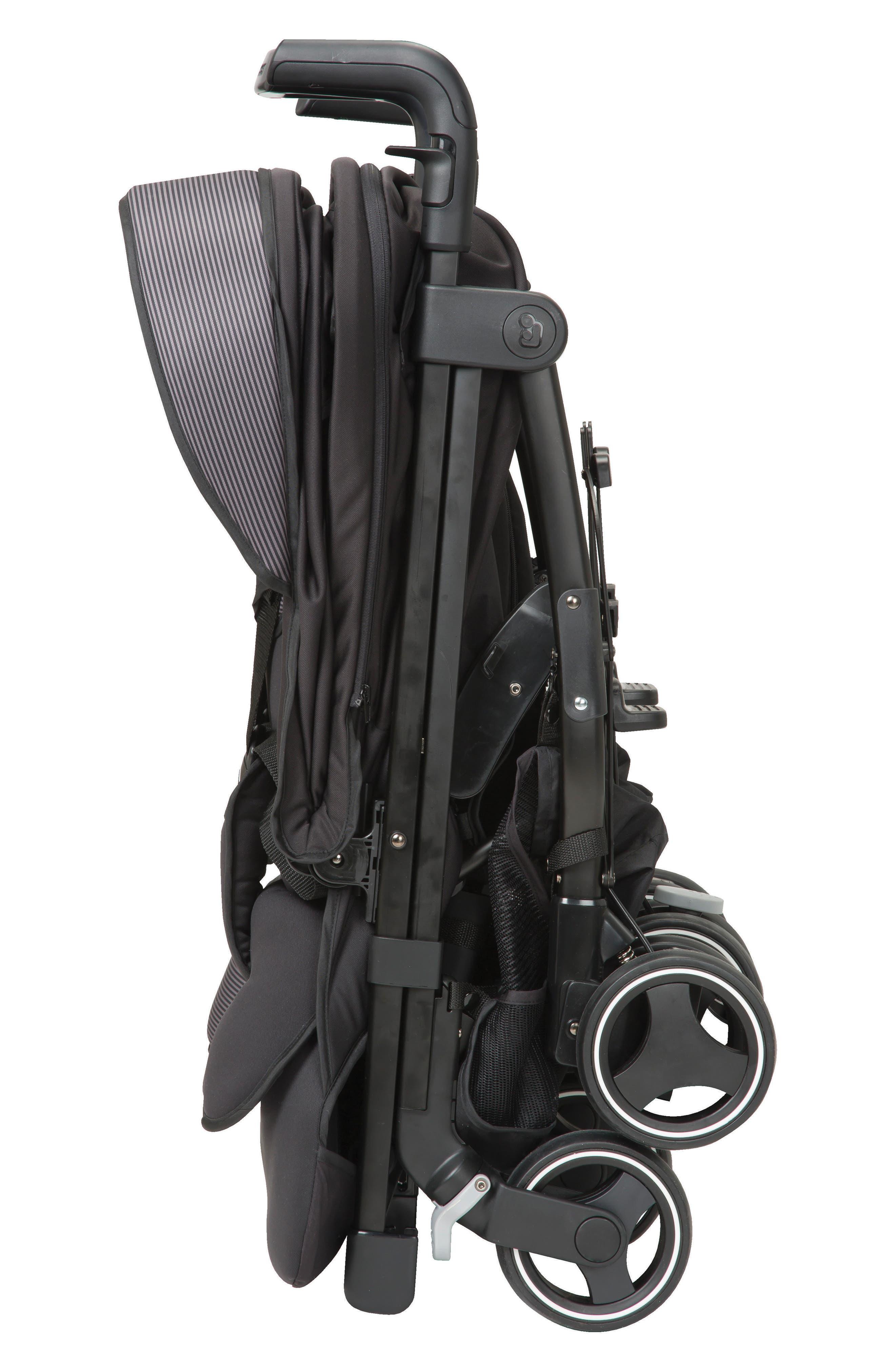 Dana For2 Double Stroller,                             Alternate thumbnail 5, color,                             DEVOTED BLACK